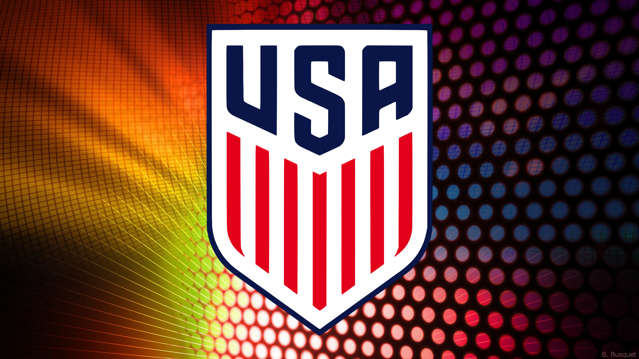 2560x1440 United States Soccer Team wallpaper