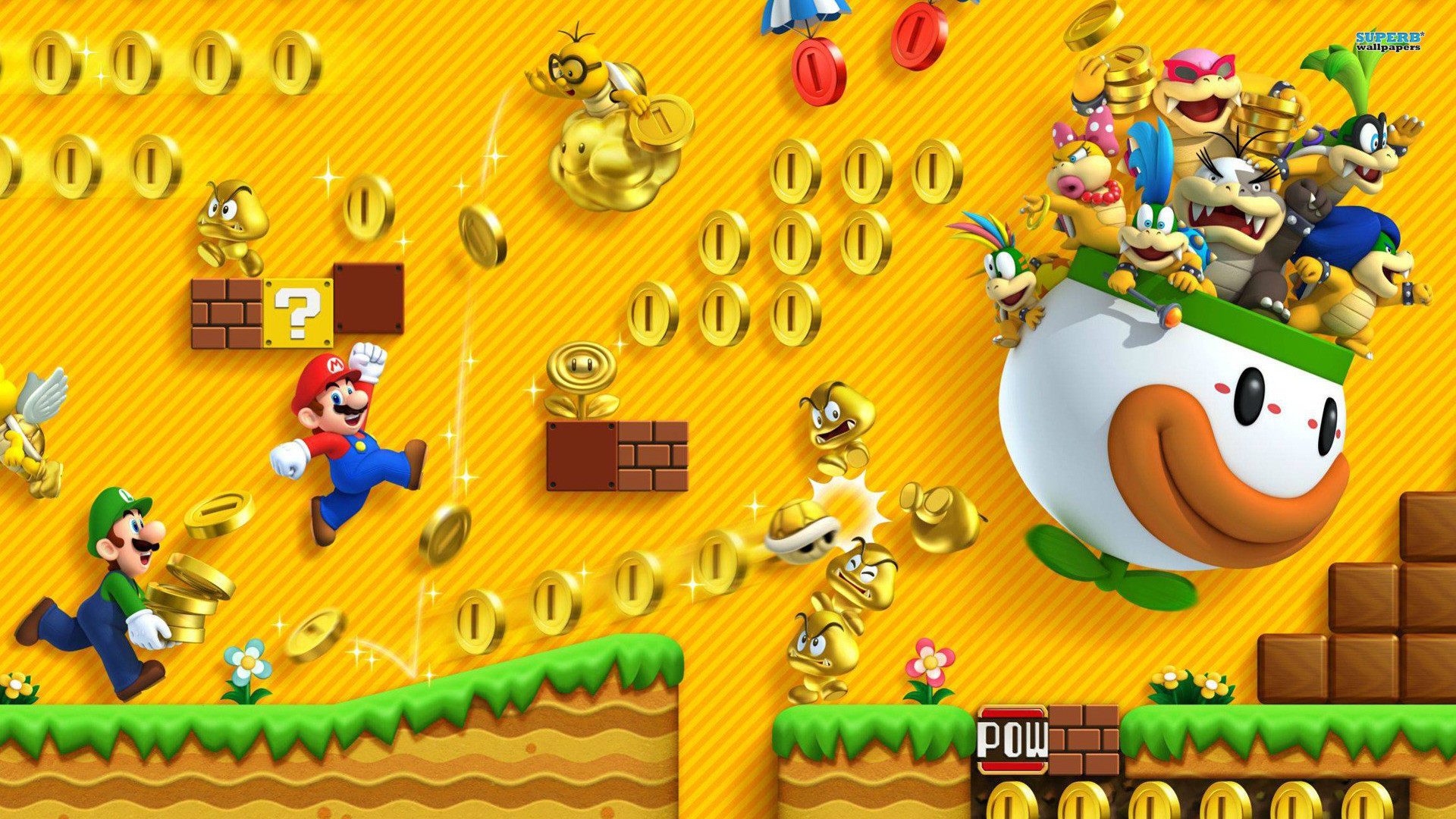 Super Mario Bros HD Wallpaper (70+ images)