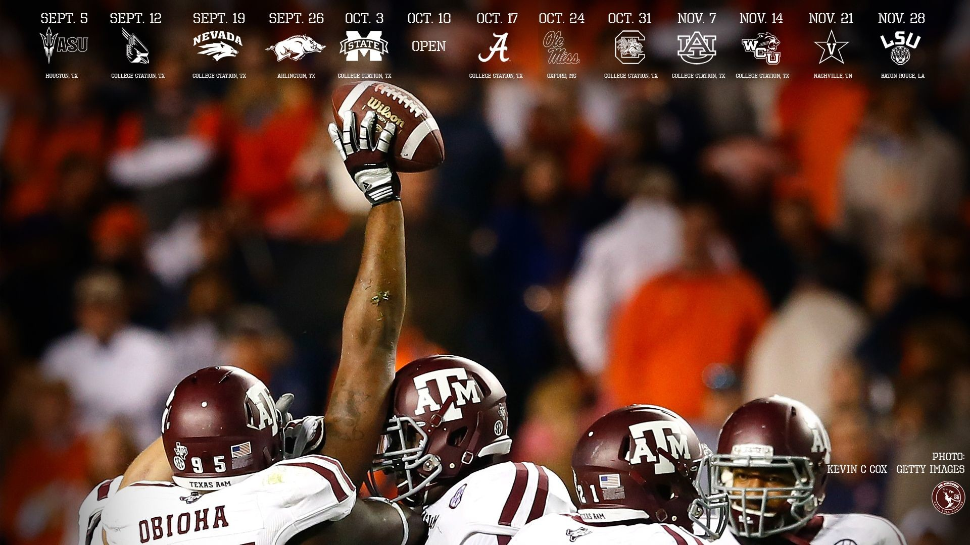 1920x1080 HD Texas Longhorns Football Picture.