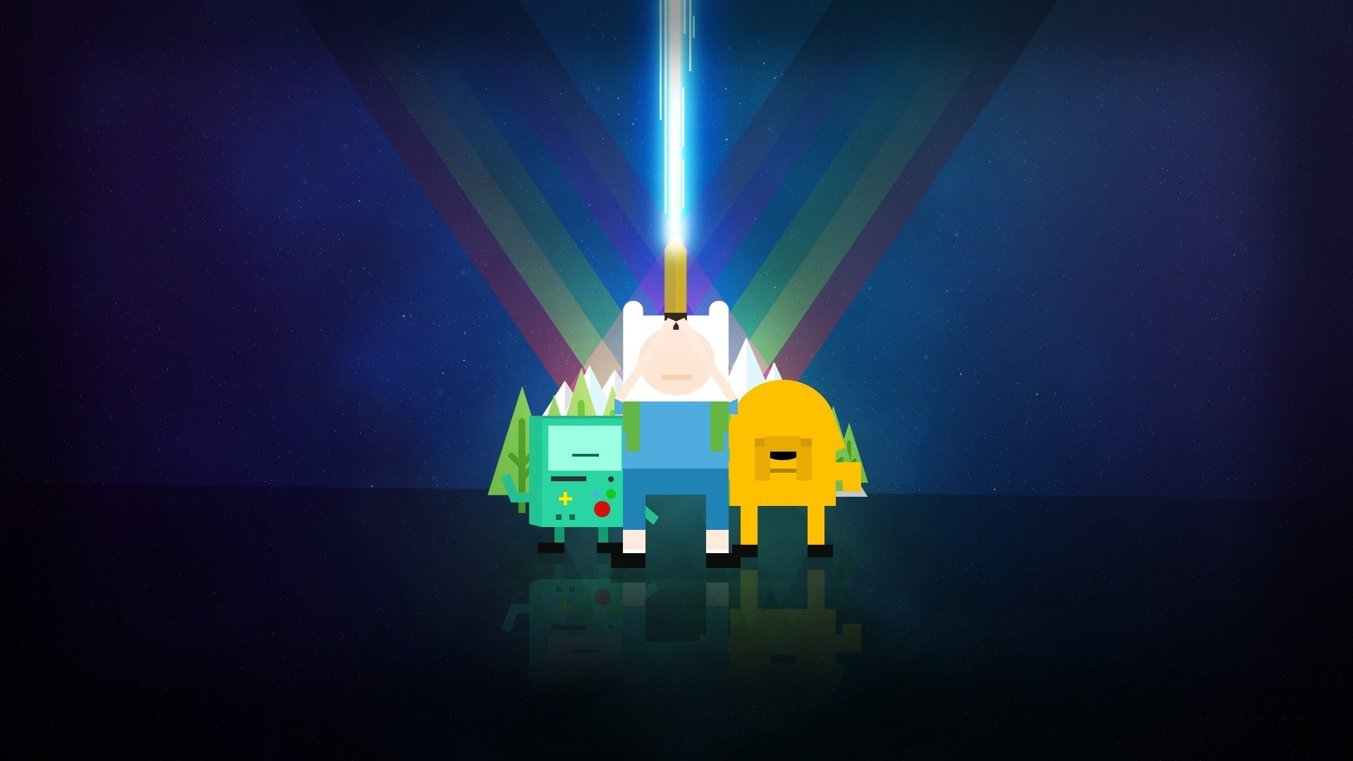 1920x1080 #Jake the Dog, #Adventure Time, #Finn the Human, #BMO, wallpaper