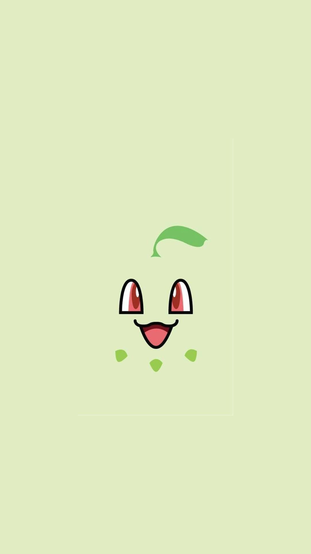1080x1920 Video games · Chikorita Pokemon iPhone 6+ HD Wallpaper -  http://freebestpicture.com/