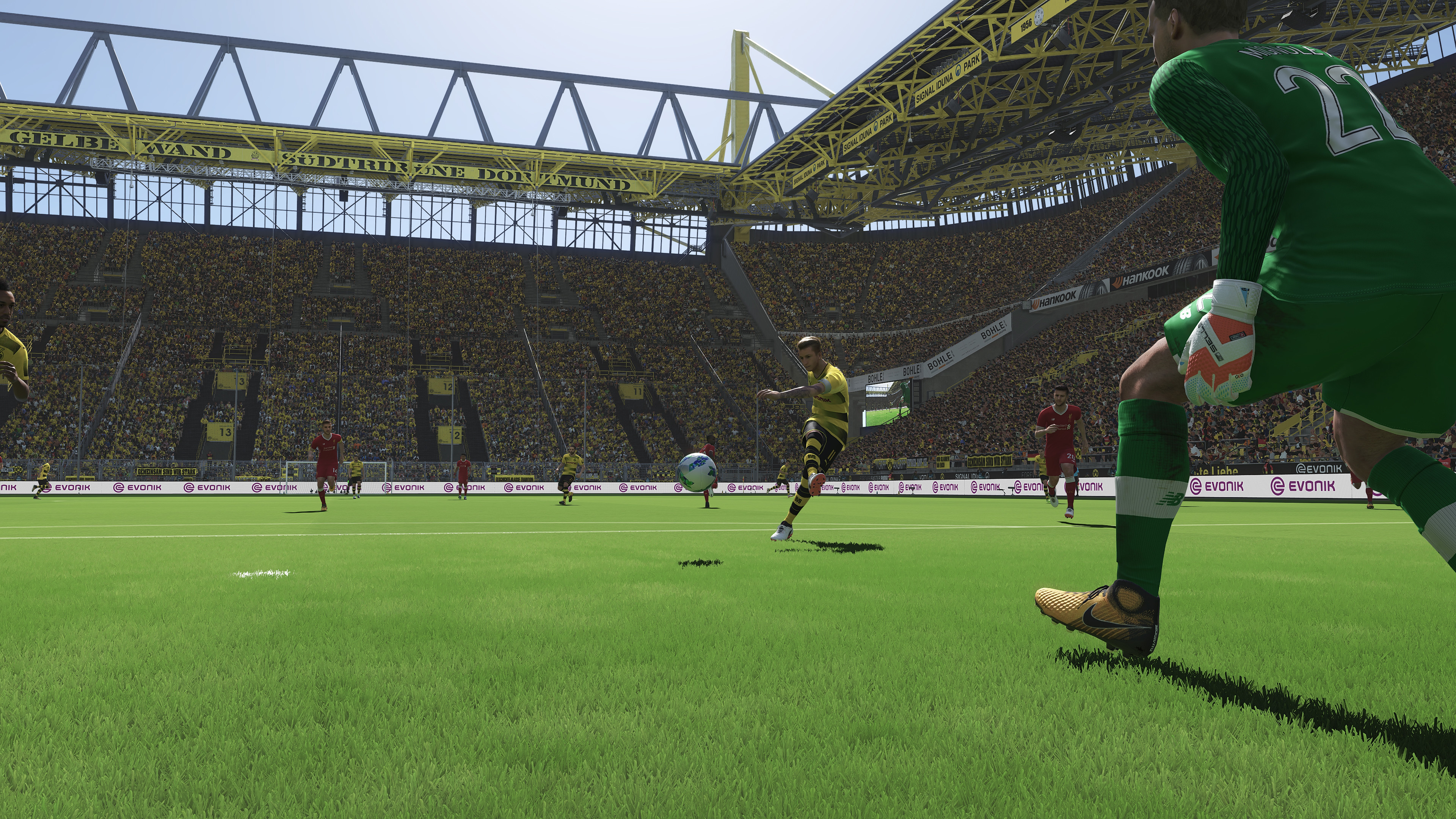 3840x2160 ... Pro Evolution Soccer 2018 NVIDIA Ansel 4K Screenshot