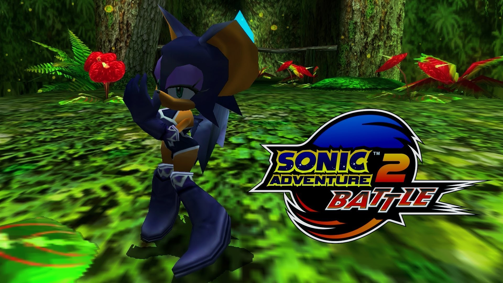 1920x1080  Sonic Adventure 2: Battle - Green Forest - Rouge (Dreamcast  costume) [REAL Full HD, Widescreen] - YouTube