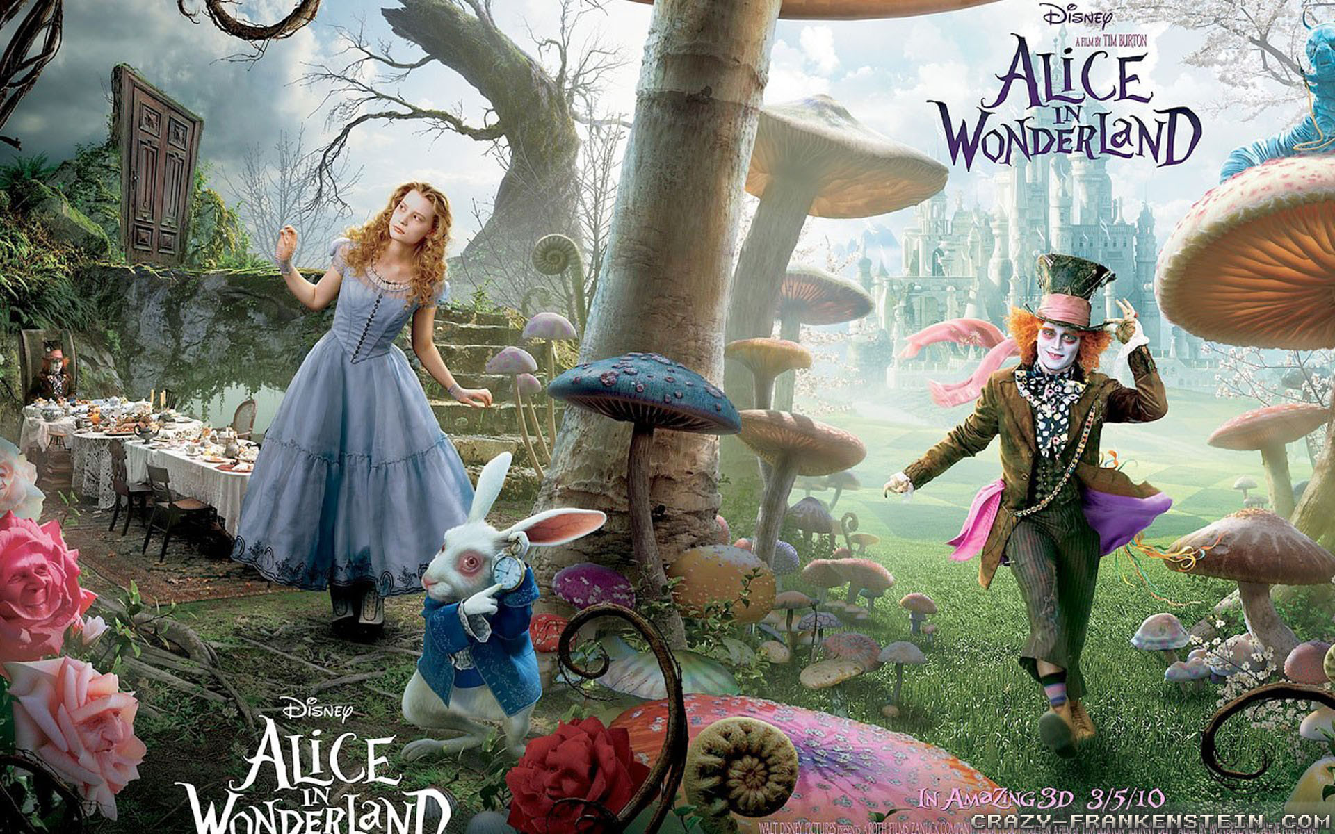 1920x1200 Videos · Home > Wallpapers > Movie wallpapers · Alice in wonderland  wallpapers