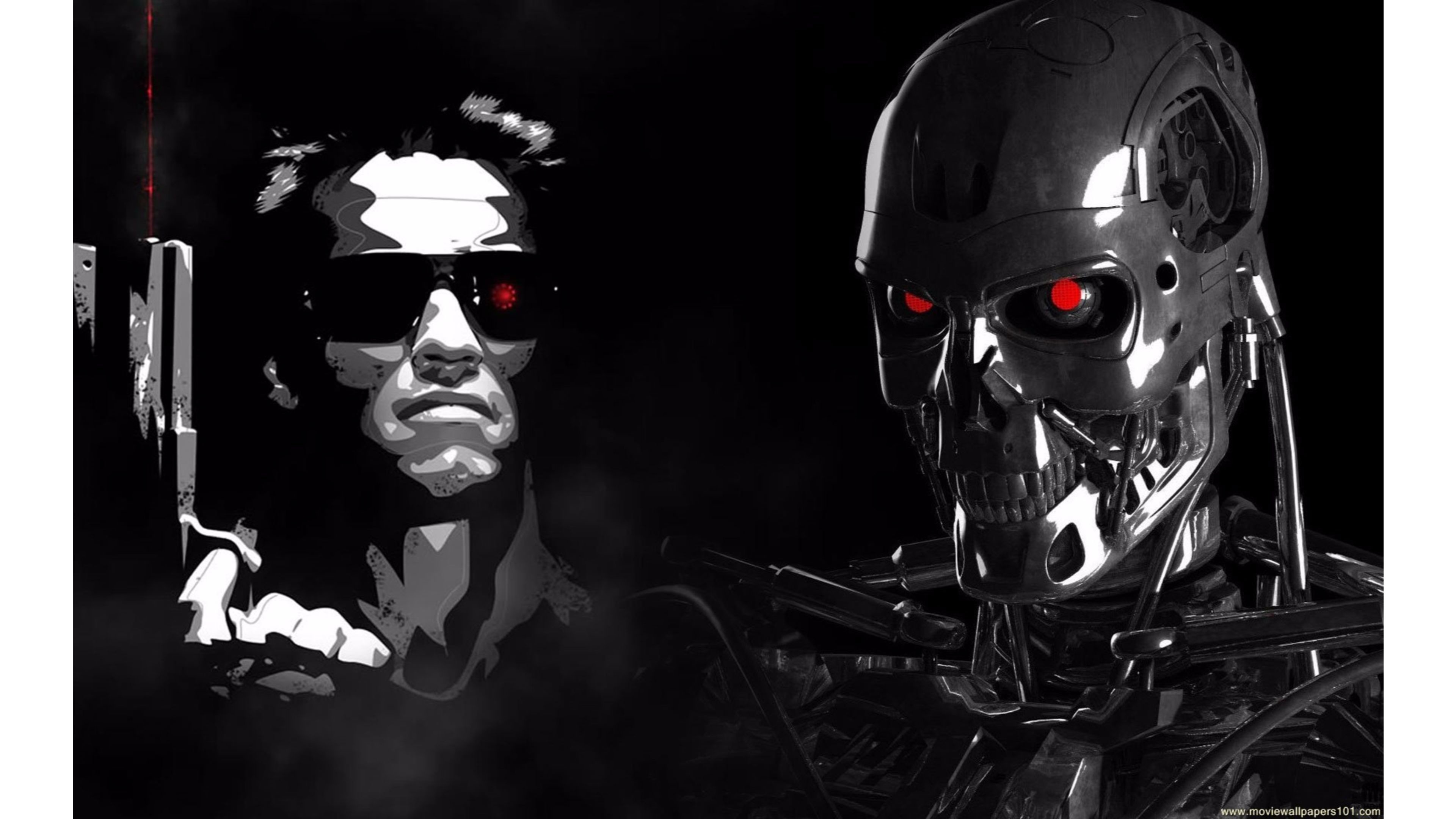 3840x2160 Creative 4K Terminator Genisys Wallpapers