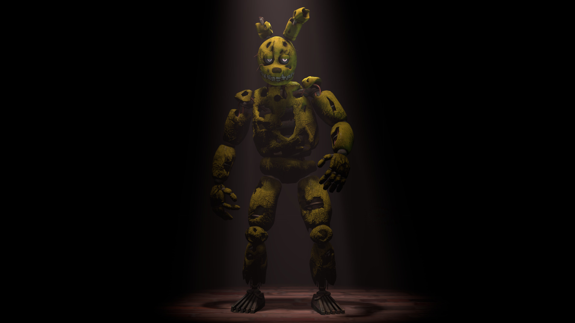 1920x1080 Five Nights at Freddy's 3 Game Character