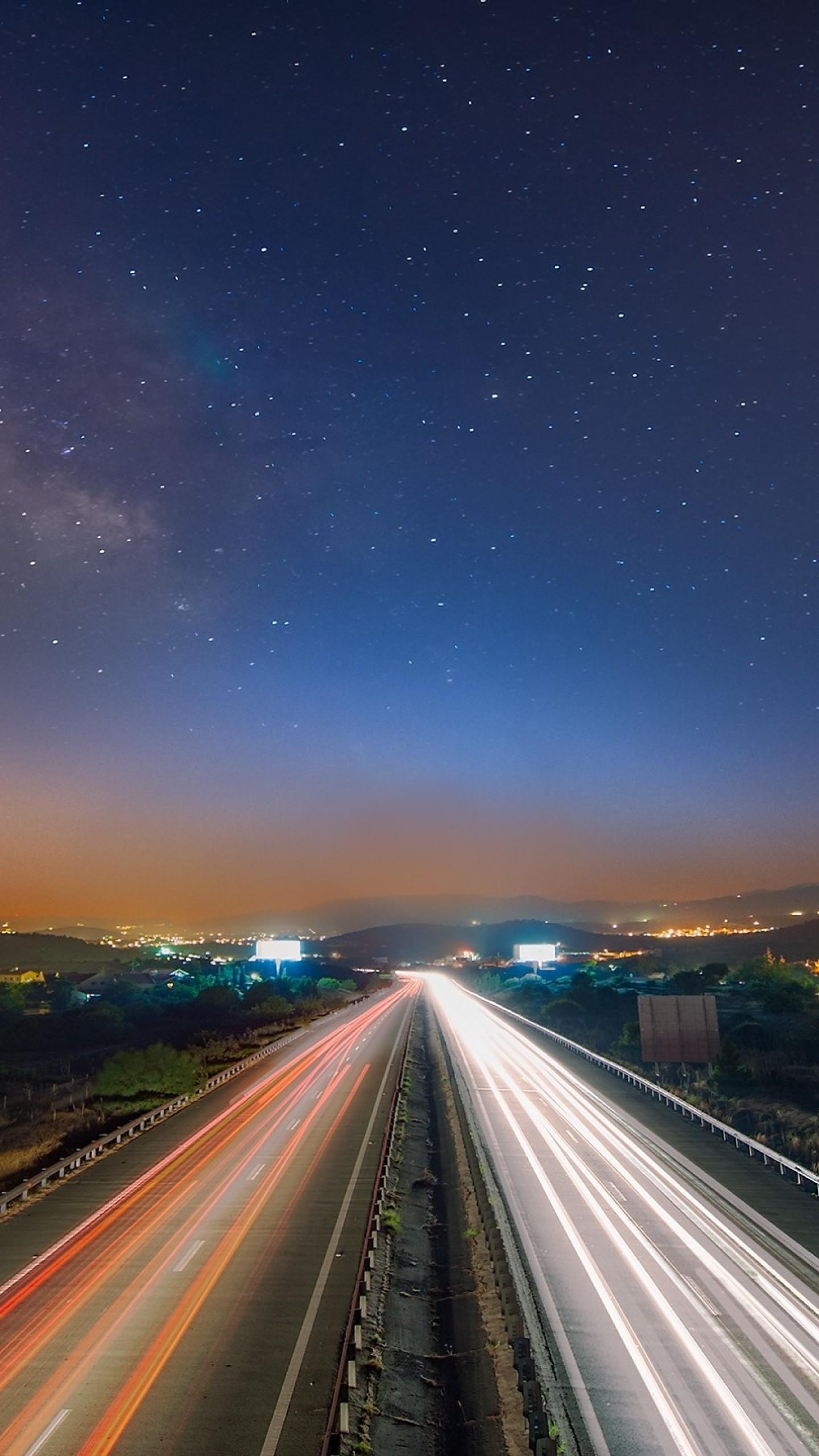 Starry Night Sky Desktop Wallpaper (74+ images)