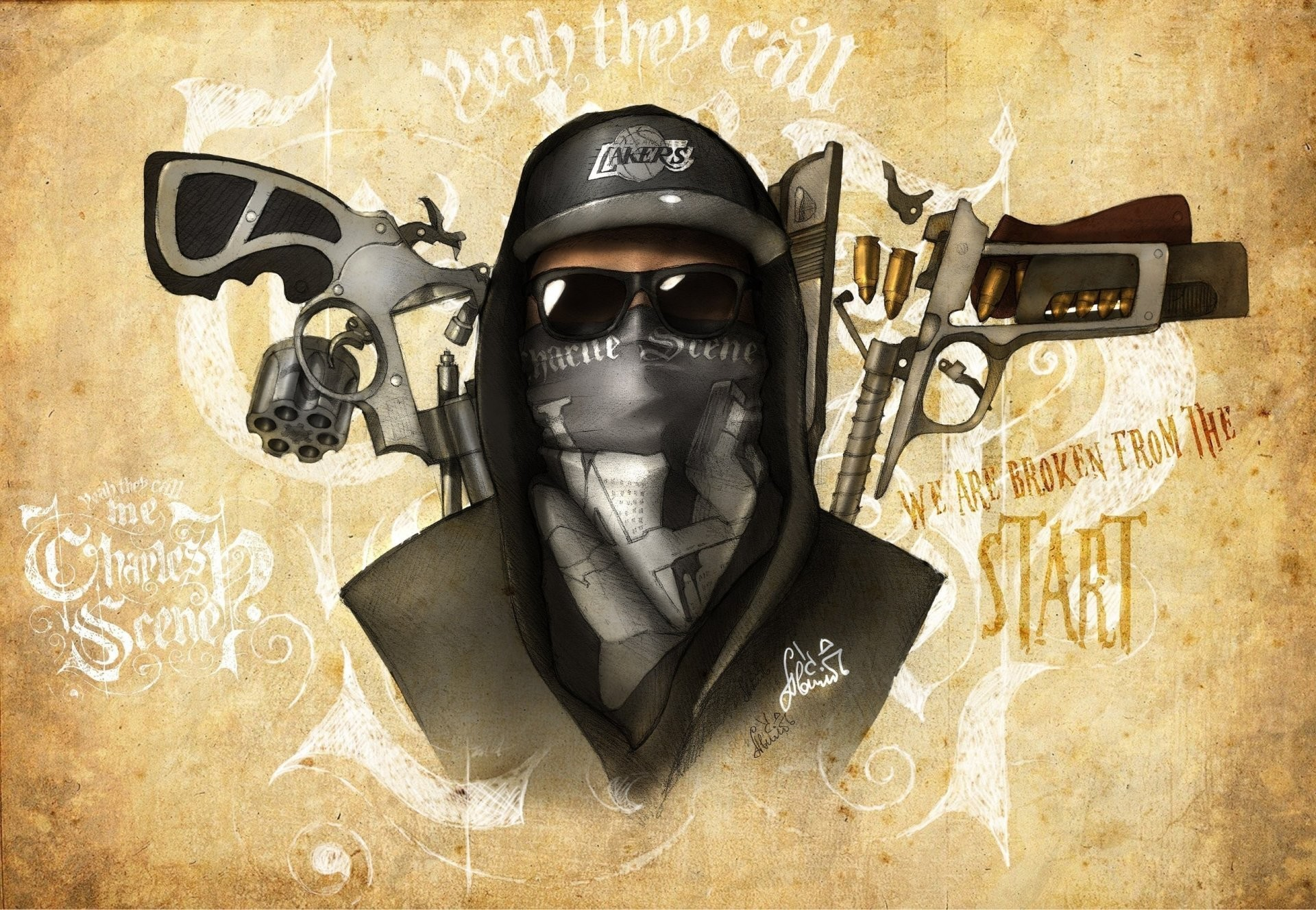 1920x1328 Hollywood undead Mask HD Wallpaper 17608