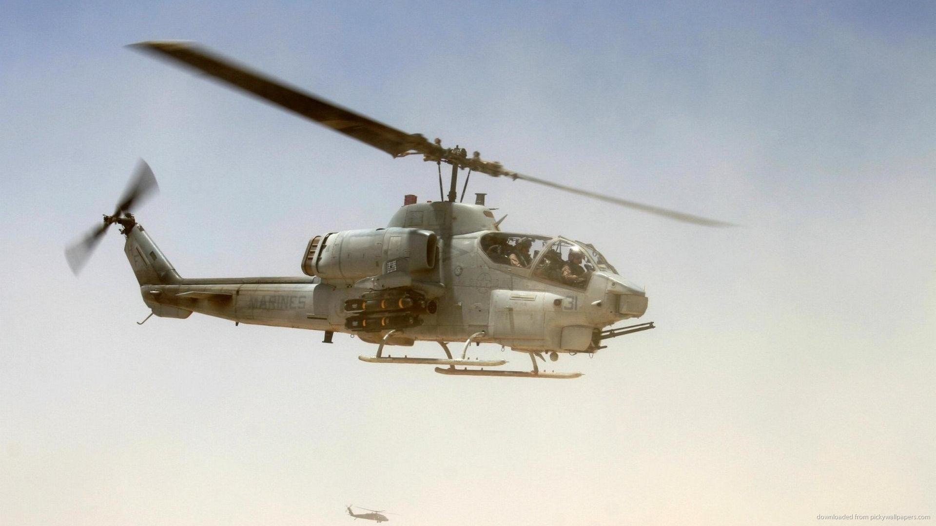 1920x1080 US Marines Helicopter for