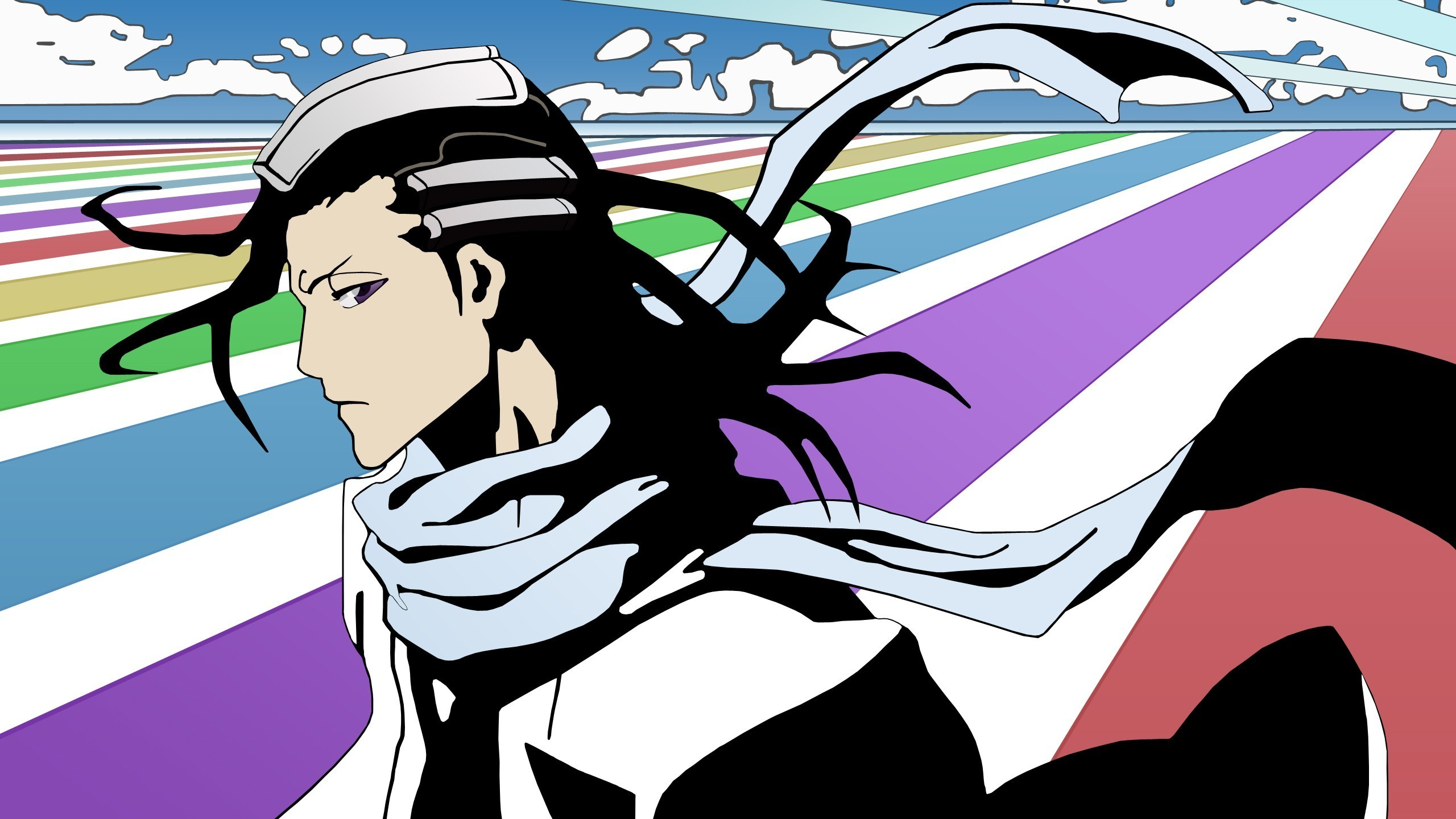 2560x1440 Bleach, Kuchiki Byakuya, Anime Vectors Wallpapers HD / Desktop and Mobile  Backgrounds