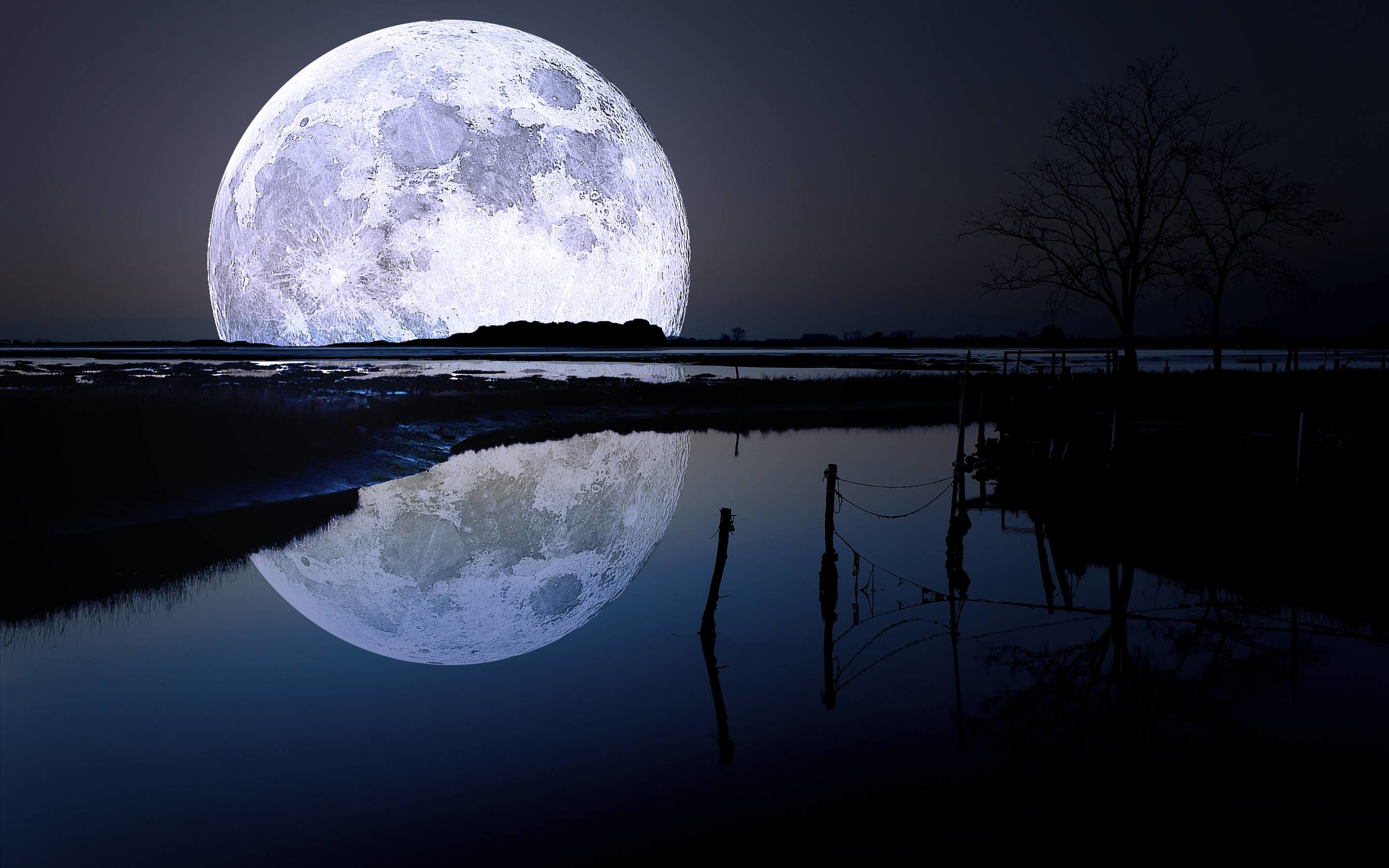 2880x1800 Full Moon Wallpapers | HD Wallpapers