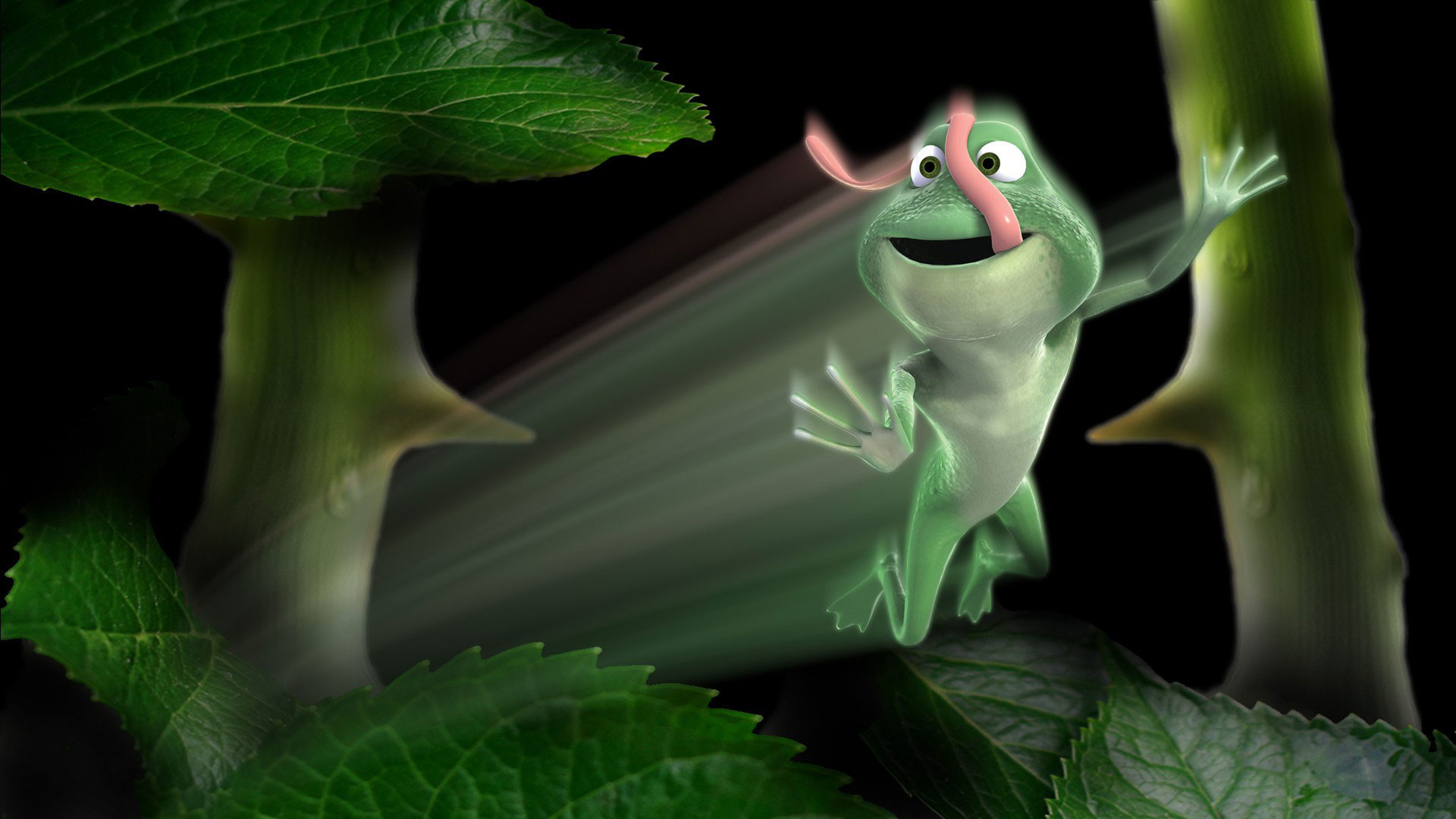 1920x1080 hd-pics-photos-best-3d-animated-green-frog-