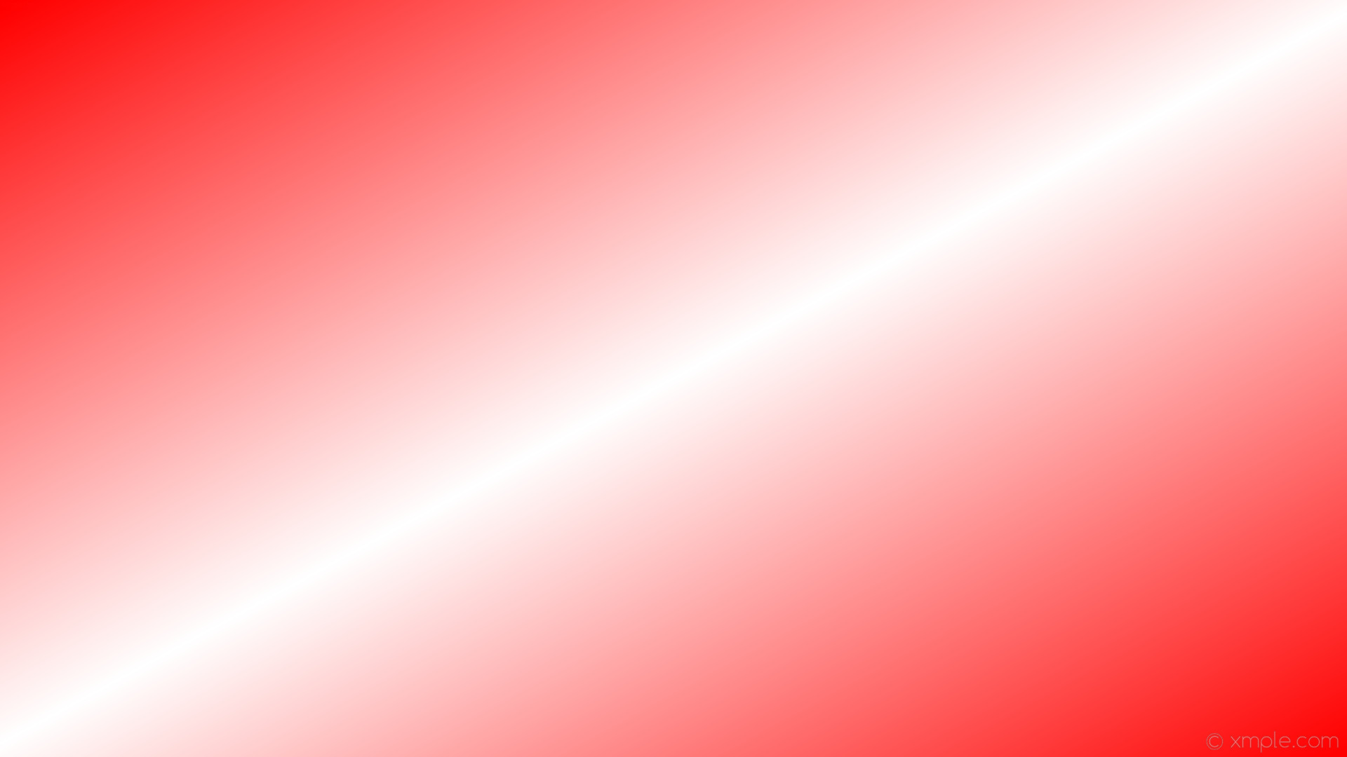 1920x1080 wallpaper linear red gradient white highlight #ff0000 #ffffff 330° 50%