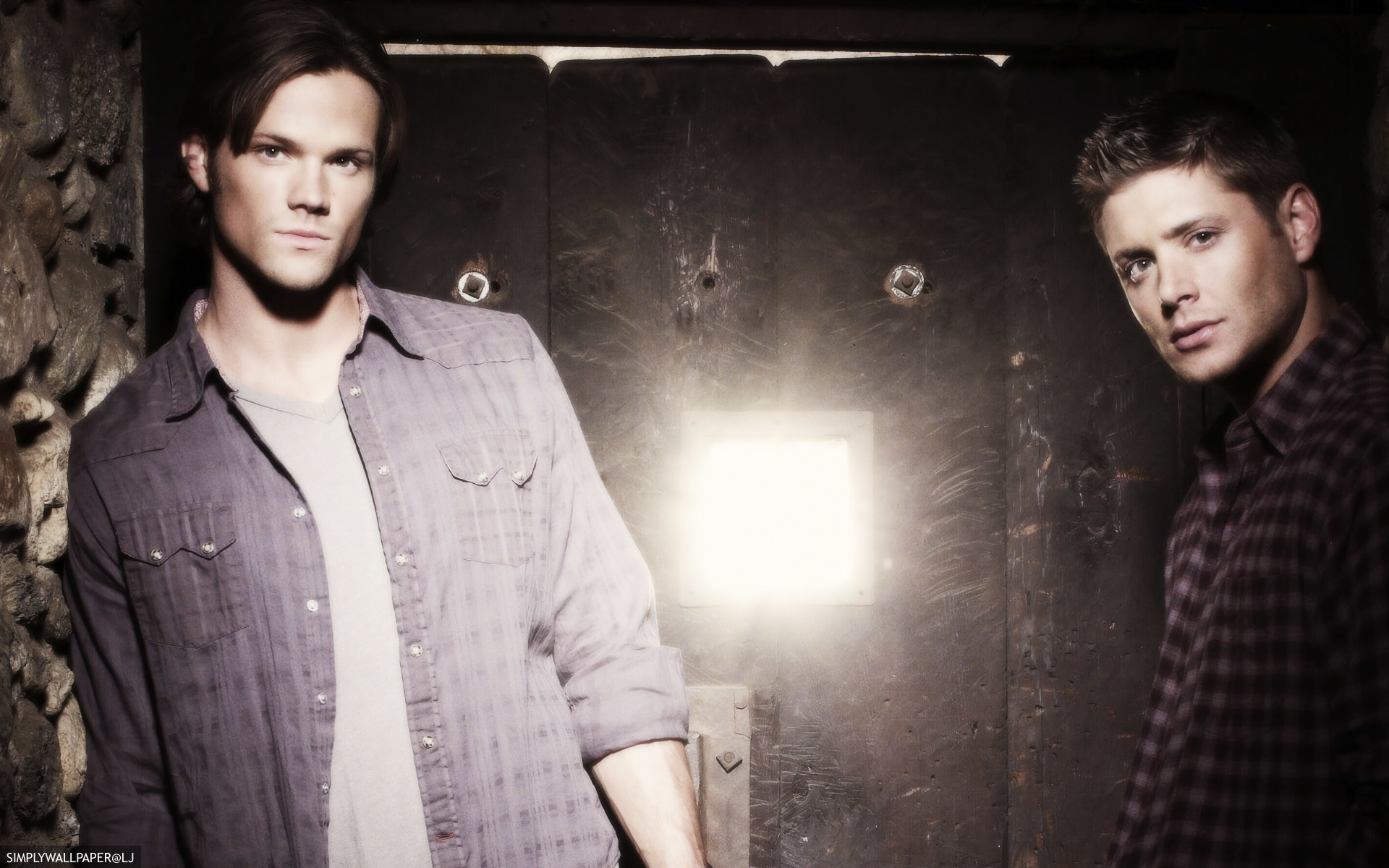 1920x1200 Supernatural desktop background / wallpaper - Sam and Dean Winchester -  credit: simplywallpaper@historyjunkie