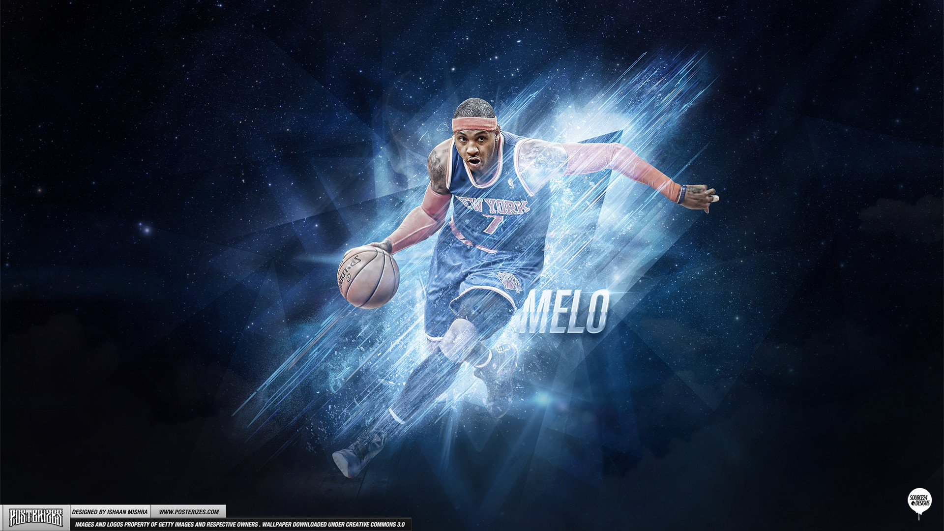 1920x1080 Carmelo Anthony – 'Playoff Push' (WALLPAPER)