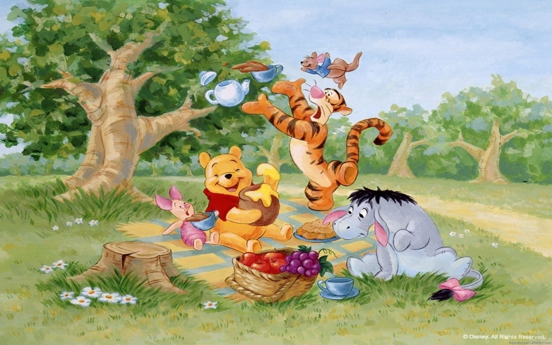 1920x1200 Pooh Wallpapers For Desktop