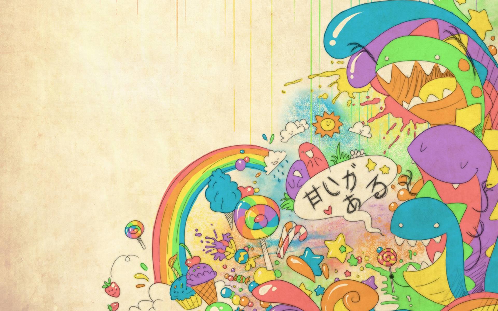 1920x1200 Cute Colorful Wallpaper