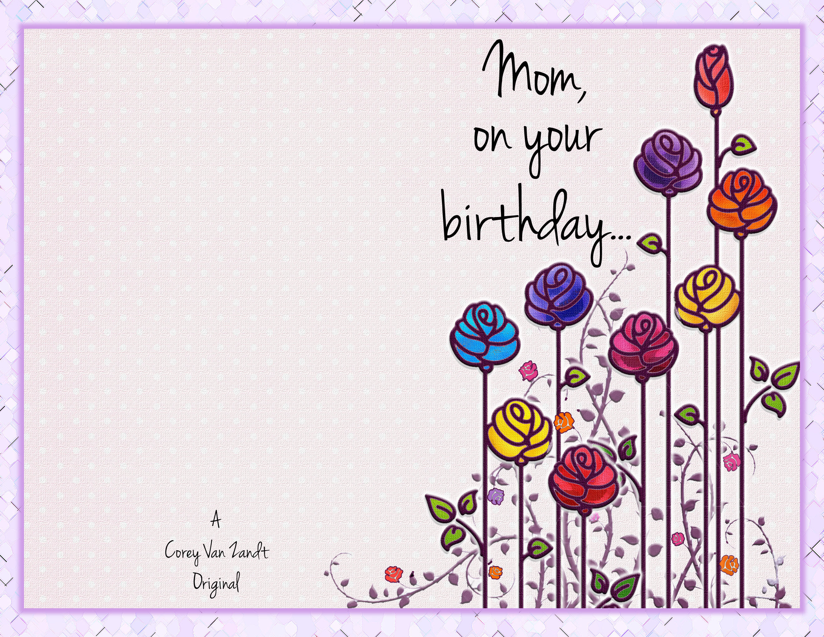 Birthday Card Backgrounds (16+ Images