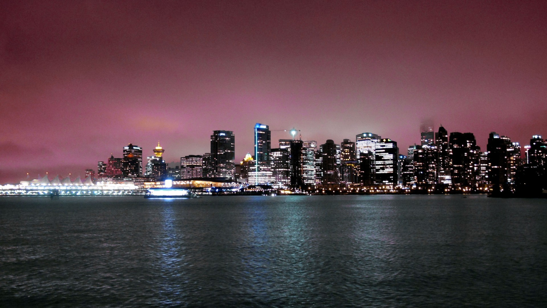 1920x1080 Download Vancouver skyline free, Vancouver skyline fare wallpaper