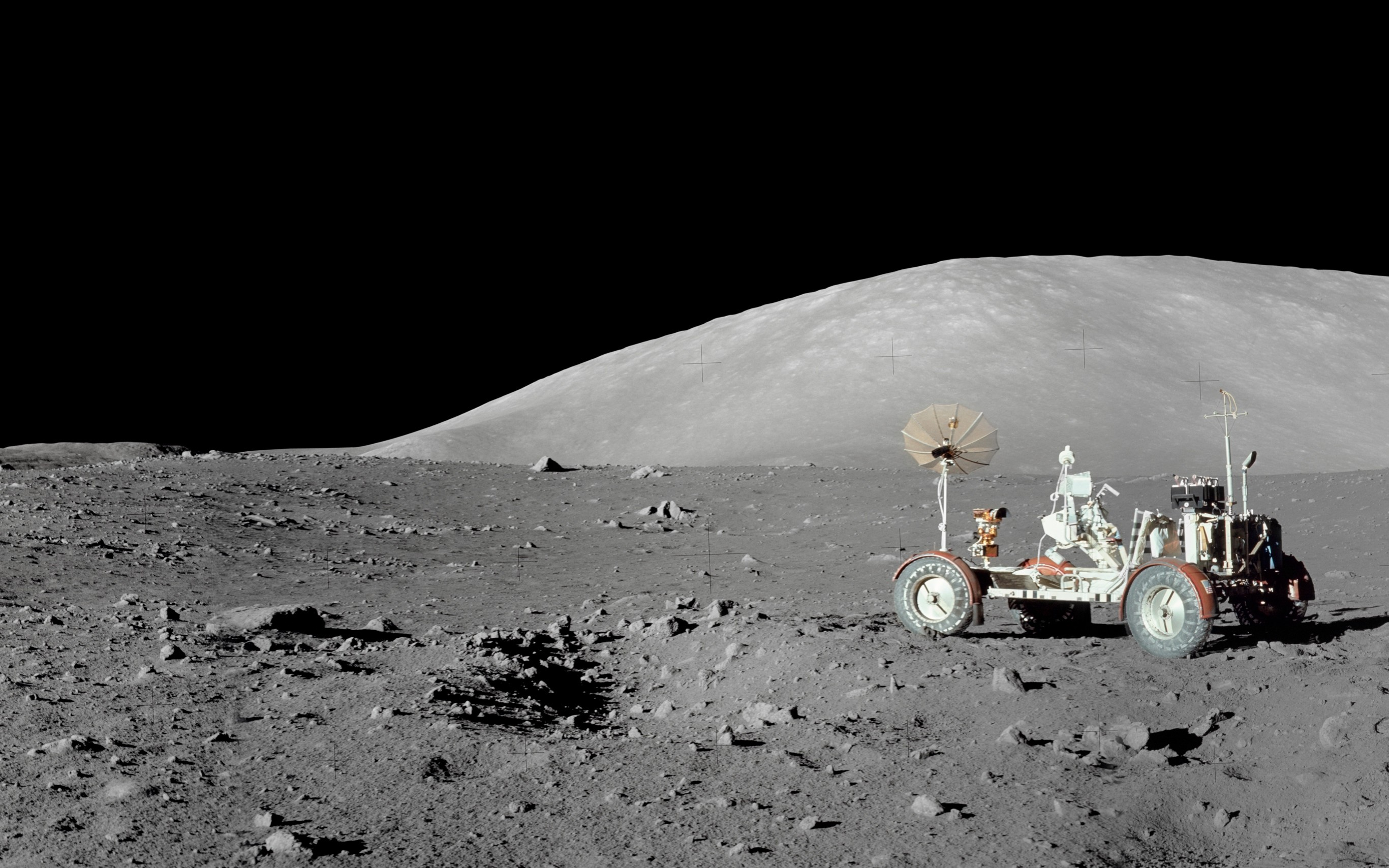 3840x2160 Moon Quotes If God Wanted Man To Become A Spacefaring Species He Would