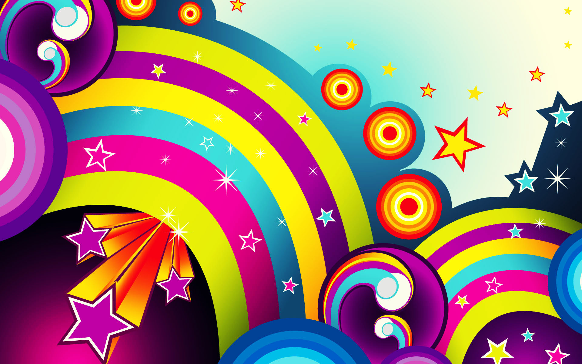 1920x1200 Cool Colorful D Wallpapers wallpaper Colorful Images Wallpapers Wallpapers)