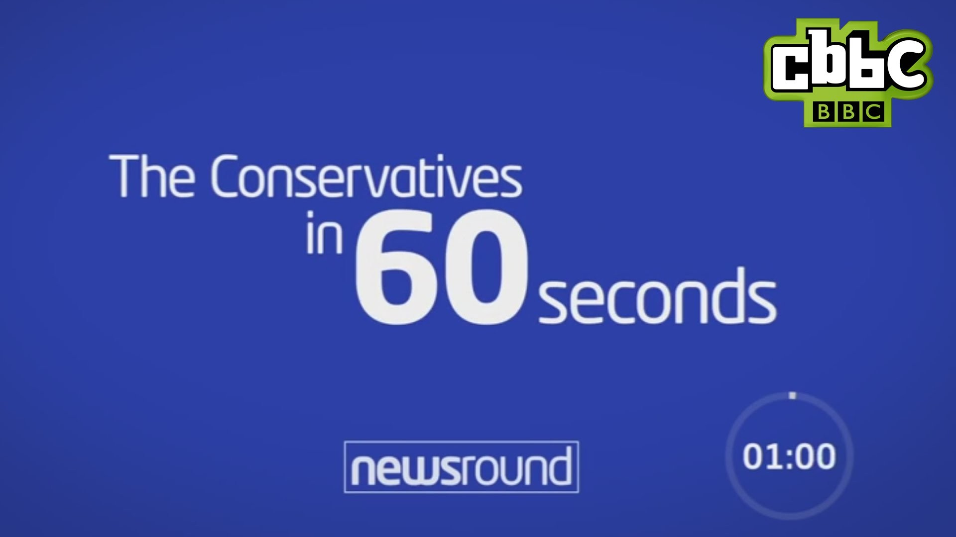 1920x1080 The Conservative Party in 60 seconds - CBBC Newsround