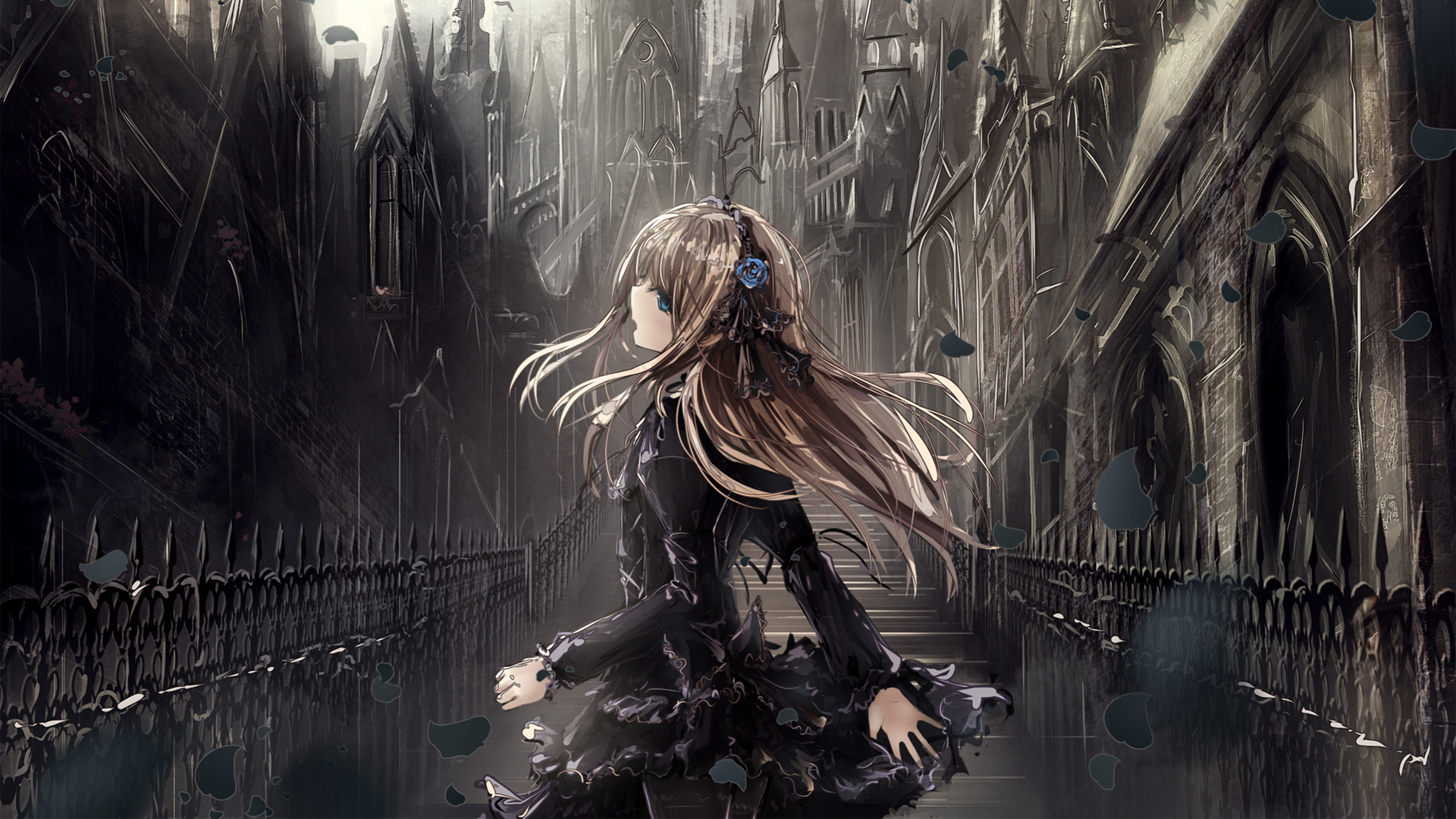 Gothic Anime Wallpaper 69 Images