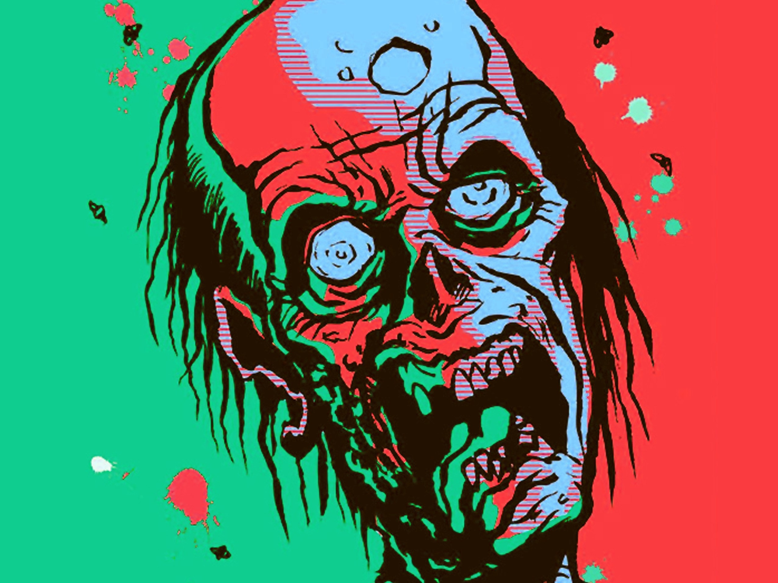 2550x1912 Zombie Wallpapers Free Wallpaper