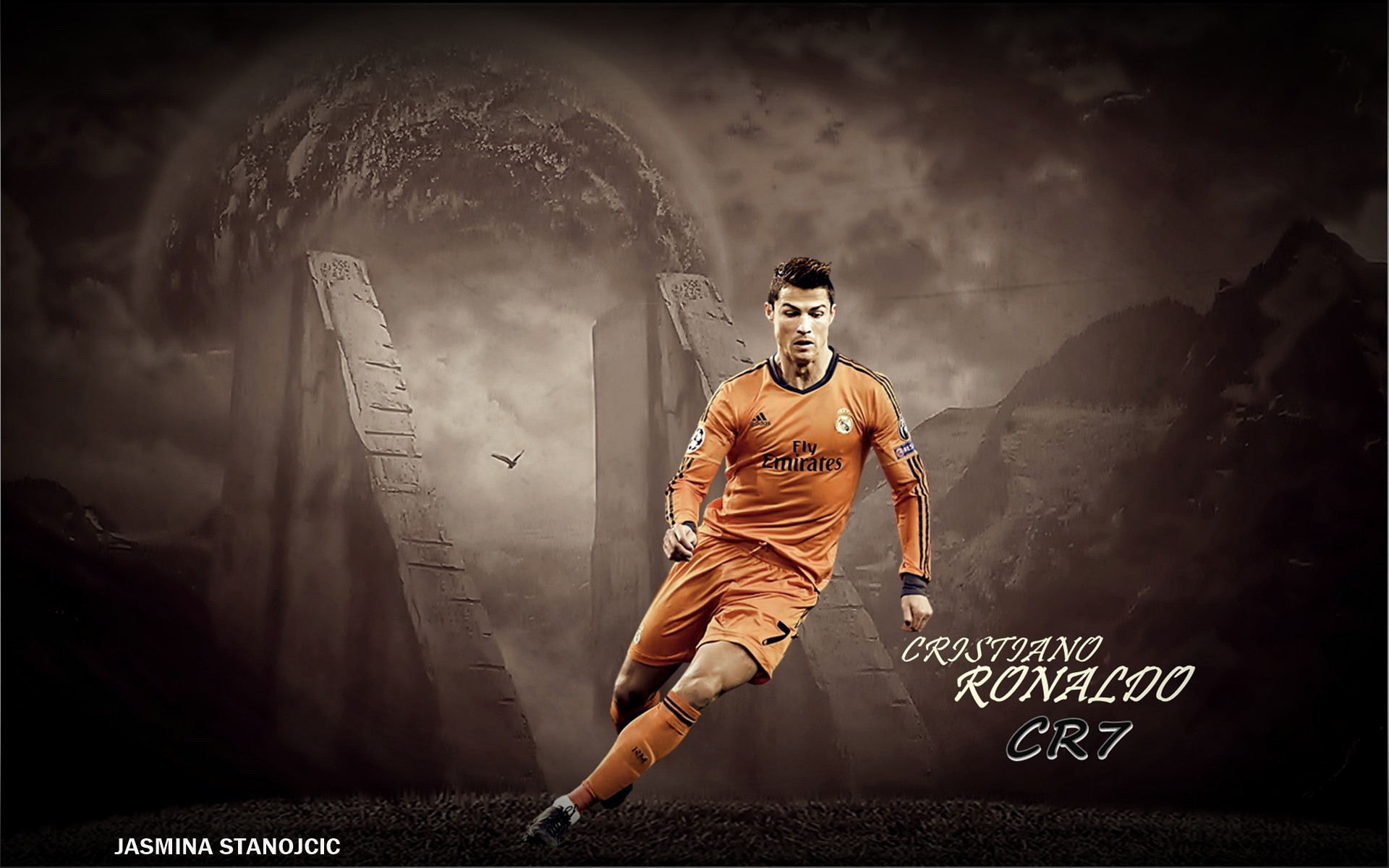 1920x1200 Cristiano Ronaldo Real Madrid Wallpaper HD 2014 #4