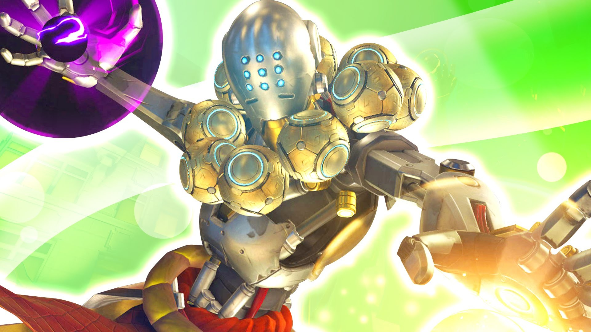 1920x1080 Overwatch Zenyatta Wallpaper For Android