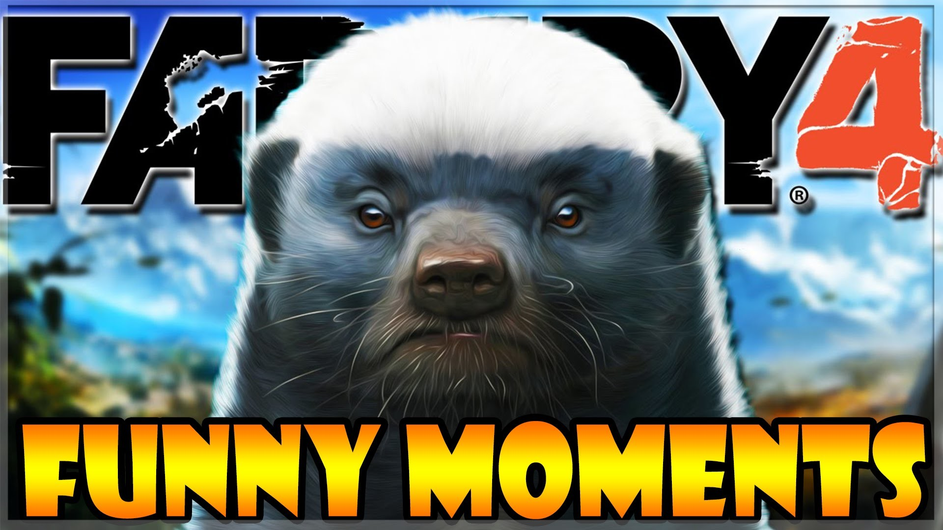 "1920x1080 Far Cry 4 ""The Elusive Honey Badger!"" - FC4 Funny Moments #1"