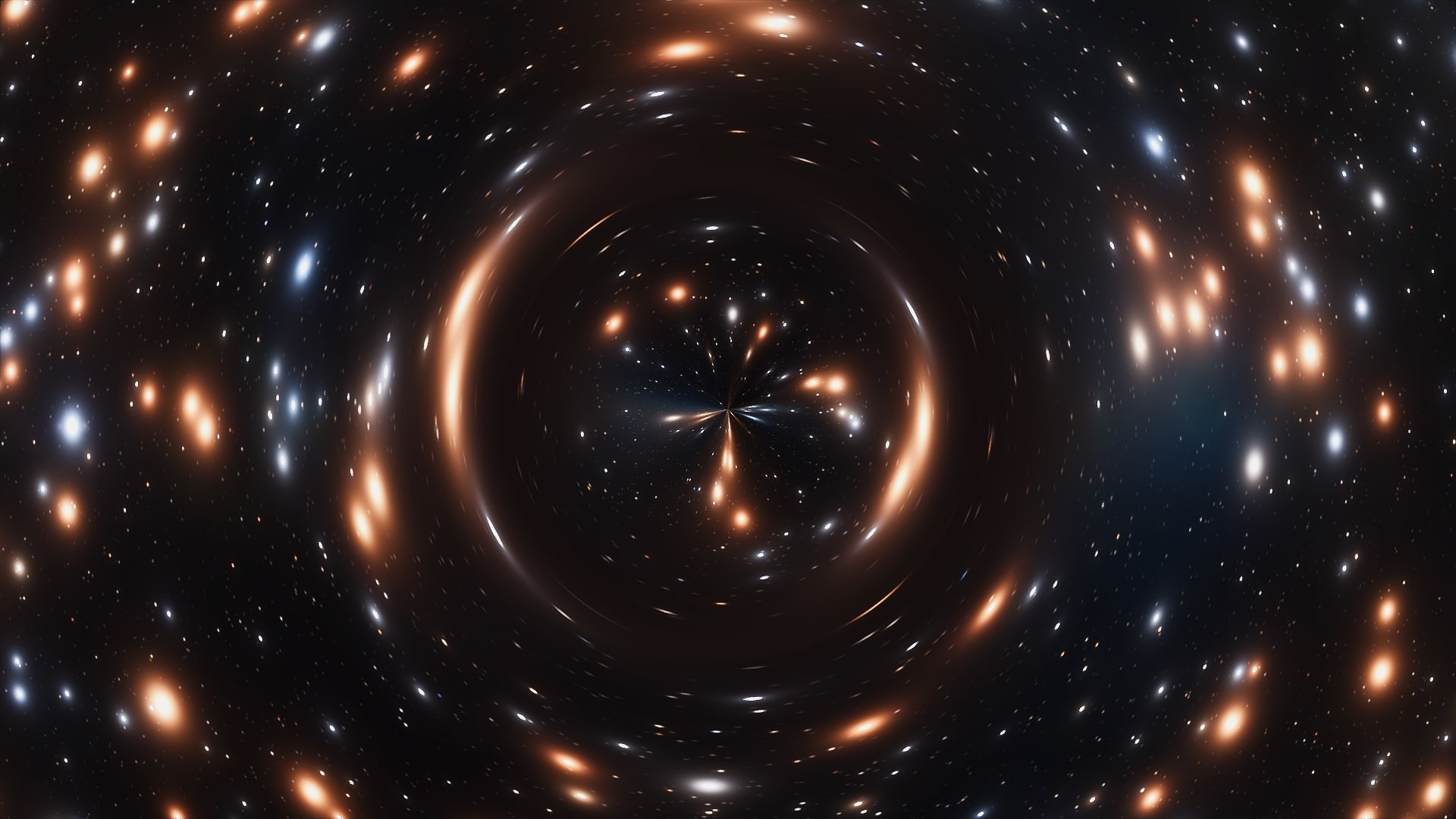 Wurmloch Interstellar