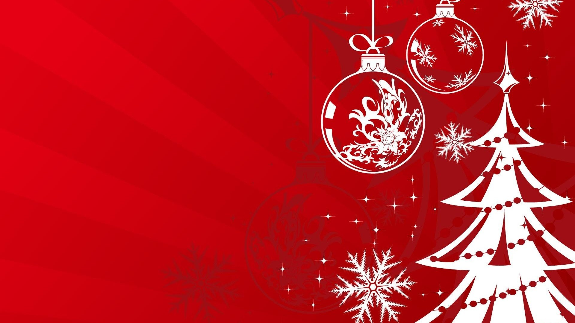 1920x1080 ... christmas decorations, balloons, tree