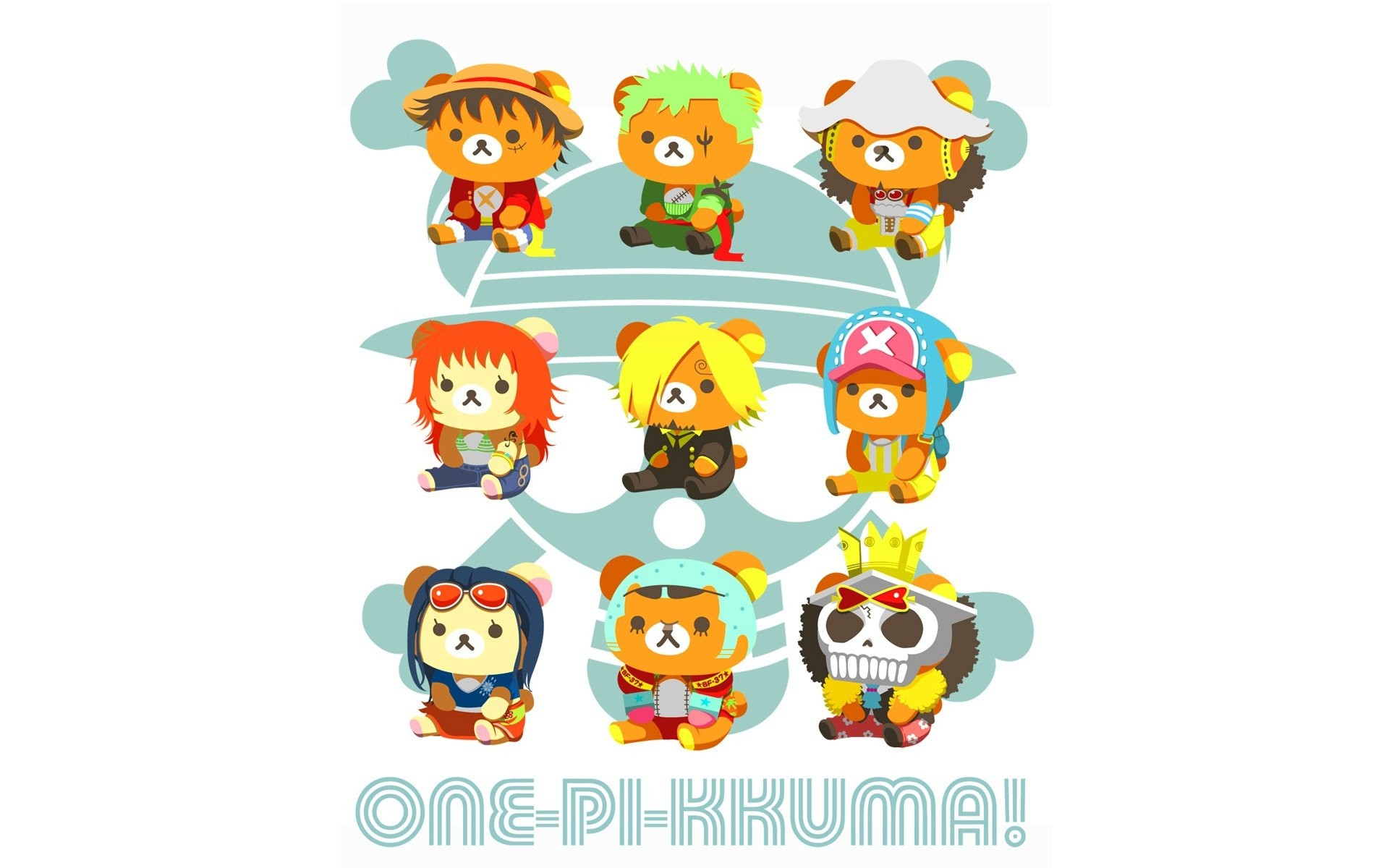 1920x1200 One Piece (anime) Rilakkuma wallpaper |  | 264622 | WallpaperUP
