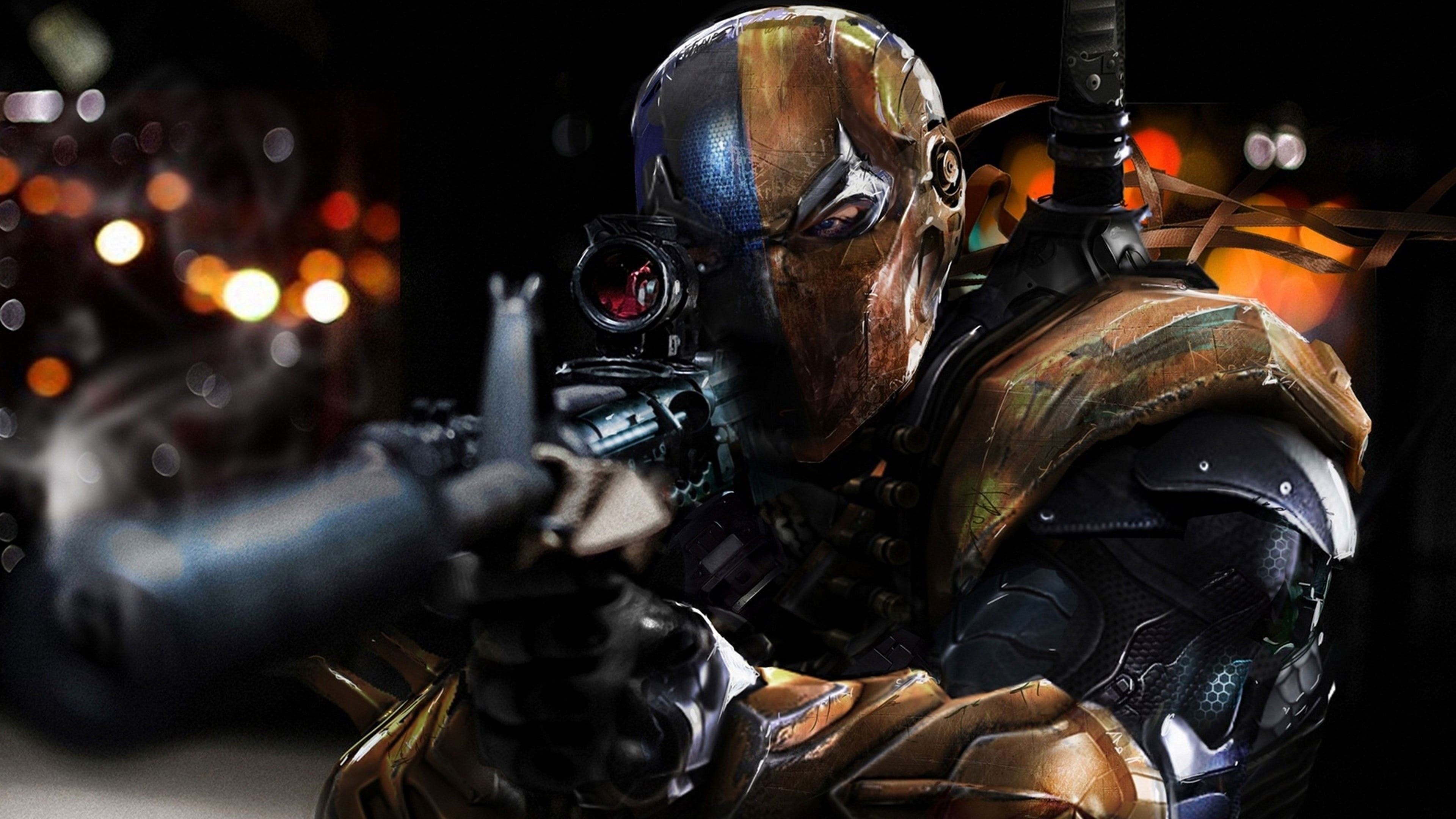 3840x2160 Gaming Deathstroke Batman Arkham Origins - Image #1345 - Licence: Free for  Personal Use