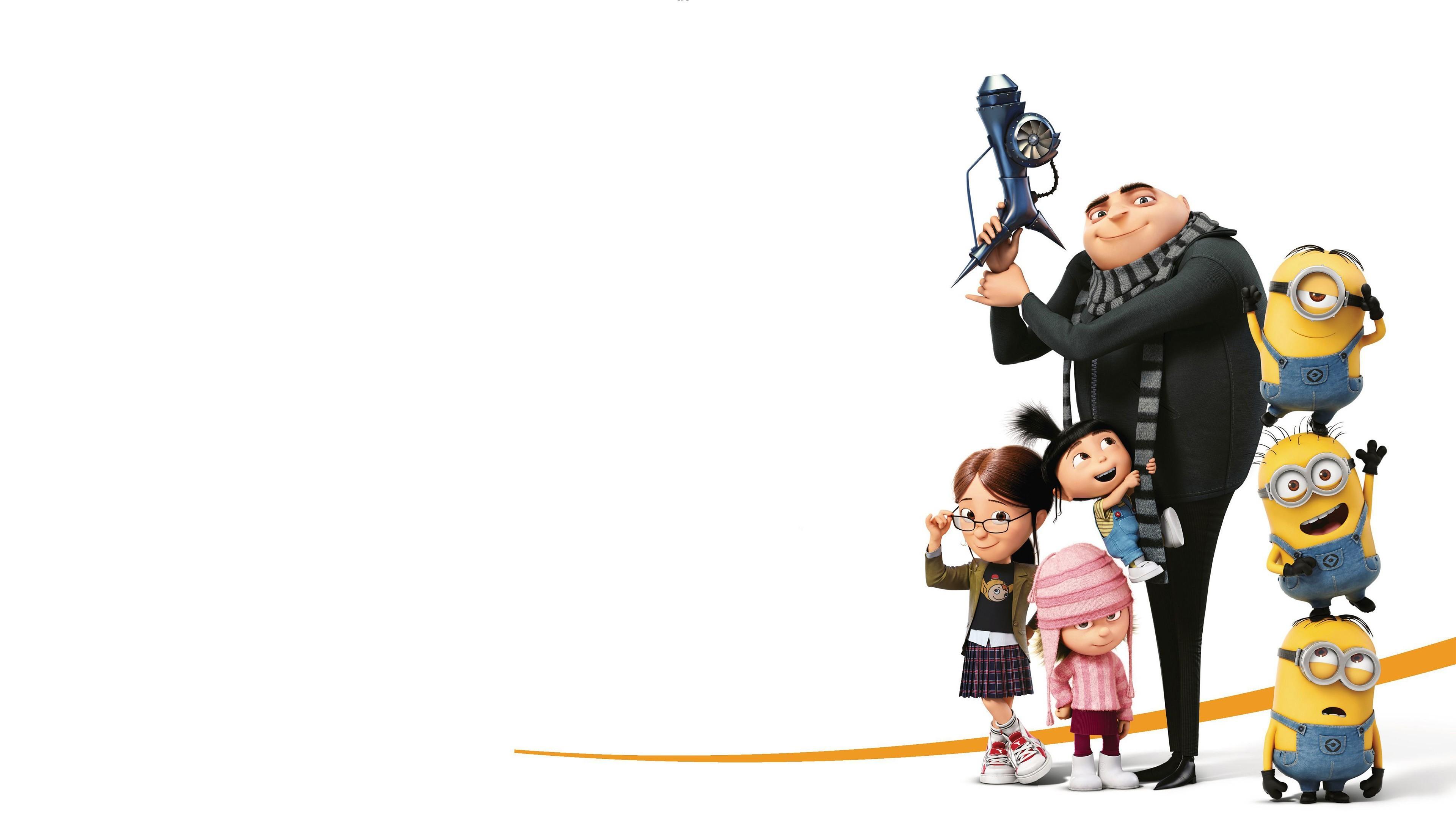 3840x2160 Movie - Despicable Me 3 Gru (Despicable Me) Agnes (Despicable Me)