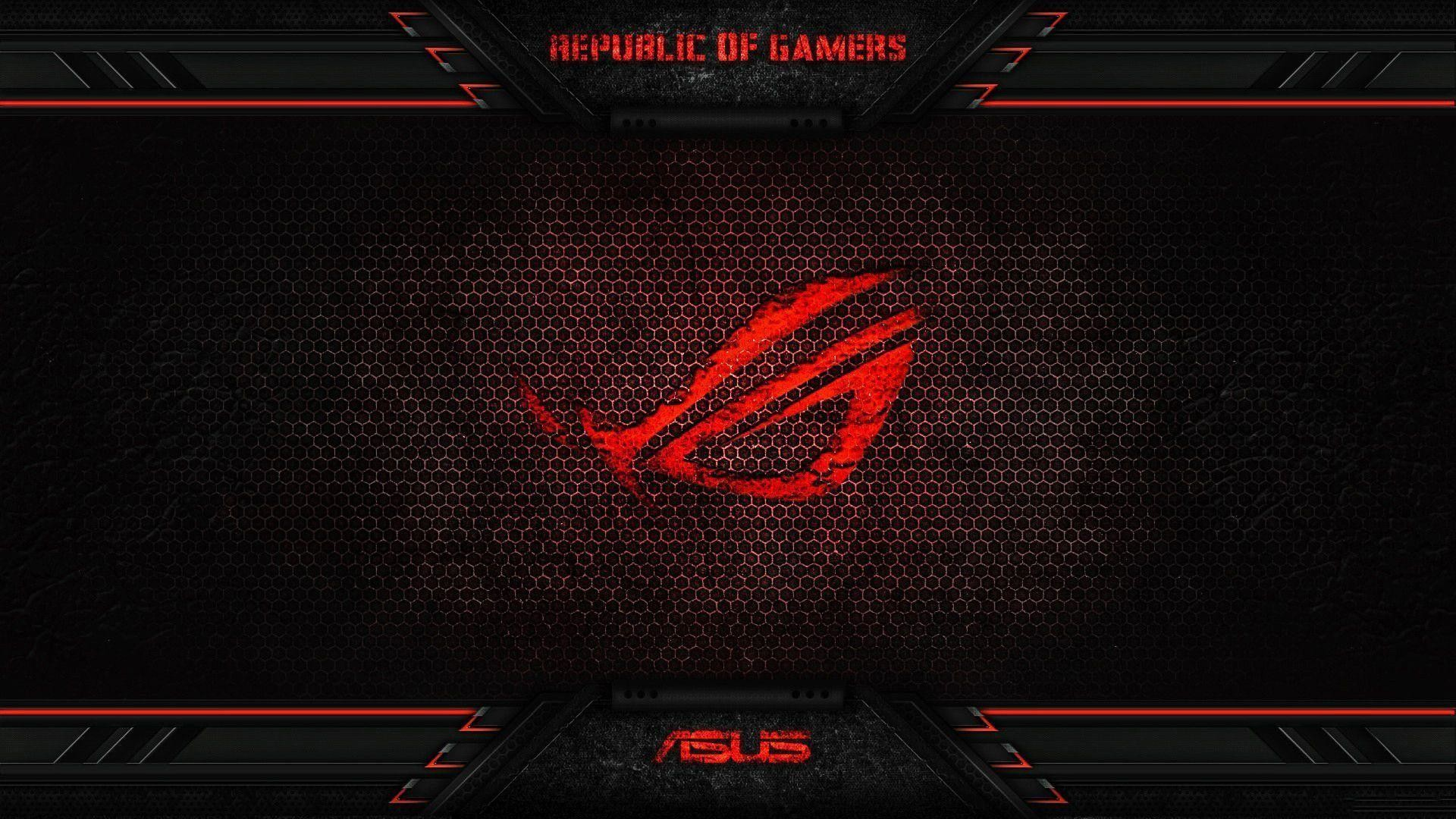 Red Asus Wallpaper: 1920x1080 Wallpaper Red