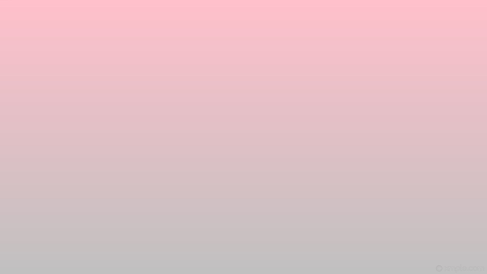 1920x1080 wallpaper pink linear grey gradient silver #ffc0cb #c0c0c0 90°