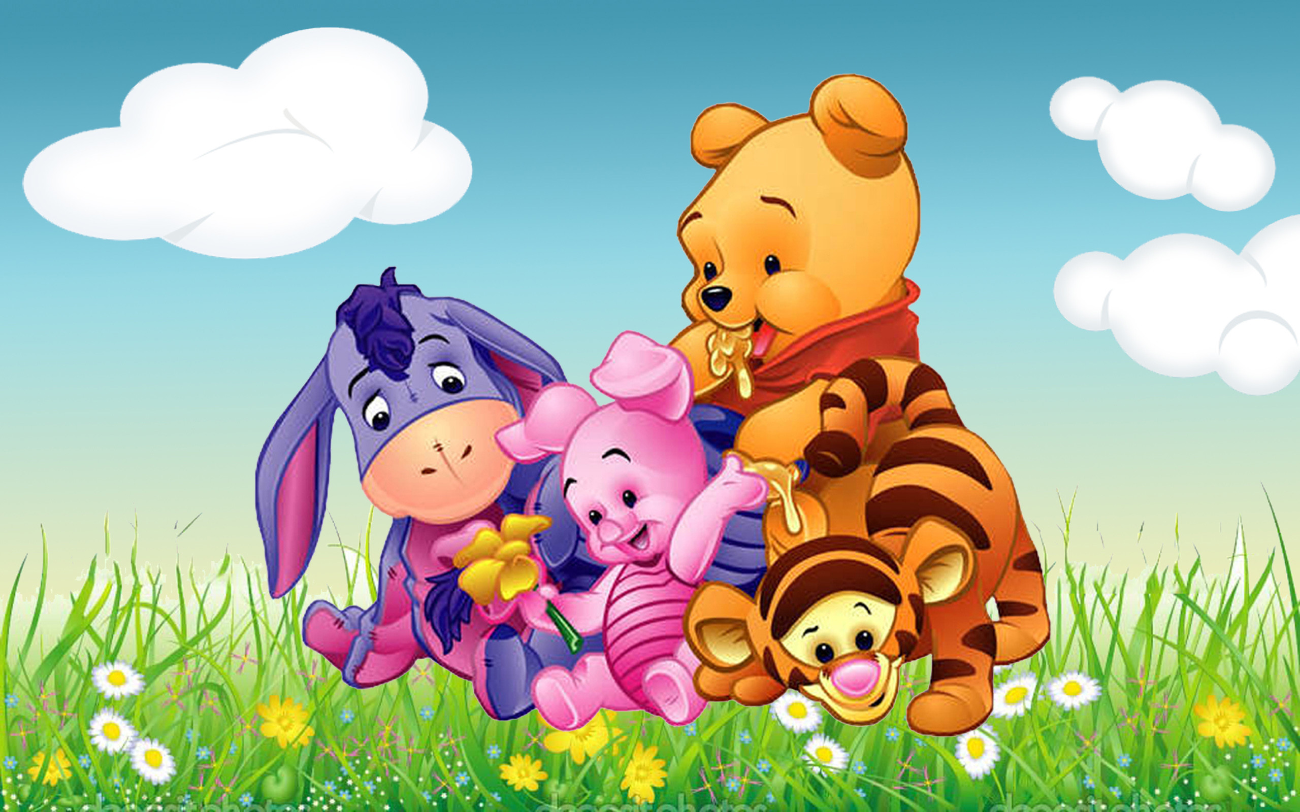 Winnie the pooh easter wallpaper 64 images - Winnie the pooh and friends wallpaper ...