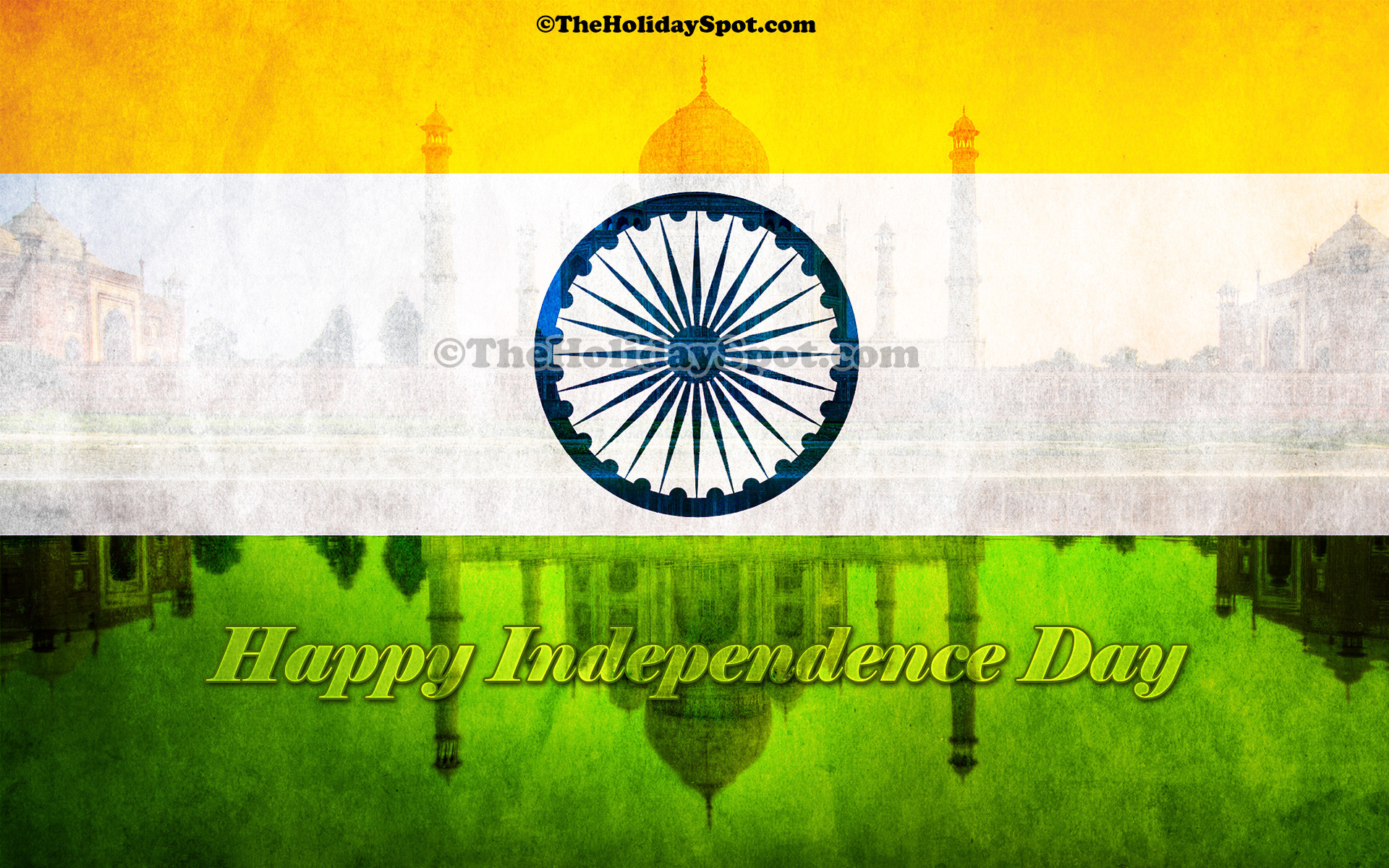 1920x1200 A high resolution desktop illustration of Indian Independence.