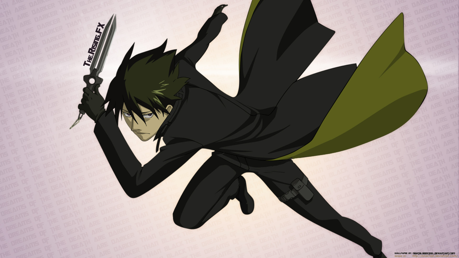 1920x1080 Darker Than Black 1080p by TheRisingFX Darker Than Black 1080p by  TheRisingFX
