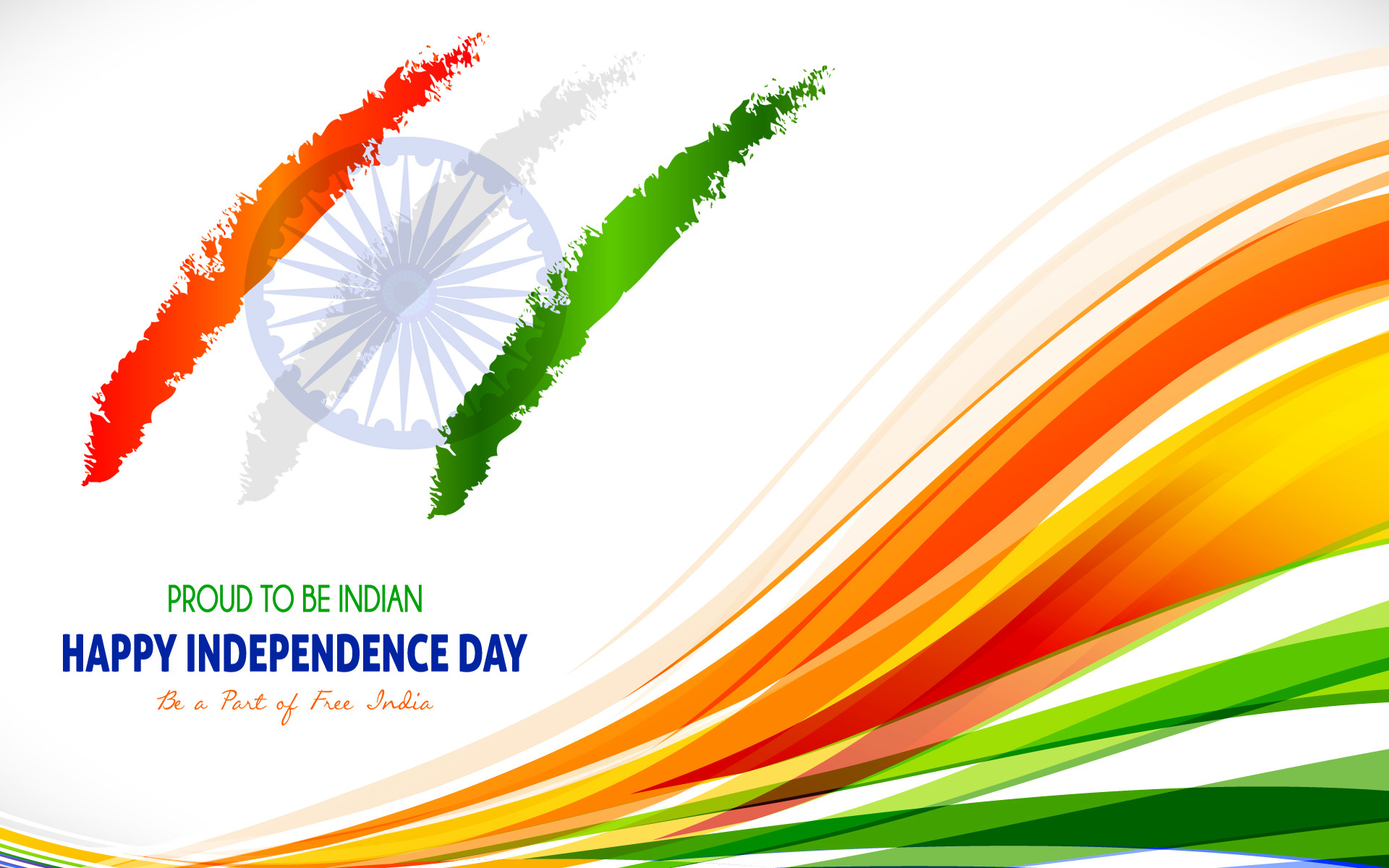 1920x1200 August Indian Independence Day Wallpaper with Tricolor India Flag - HD  Wallpapers