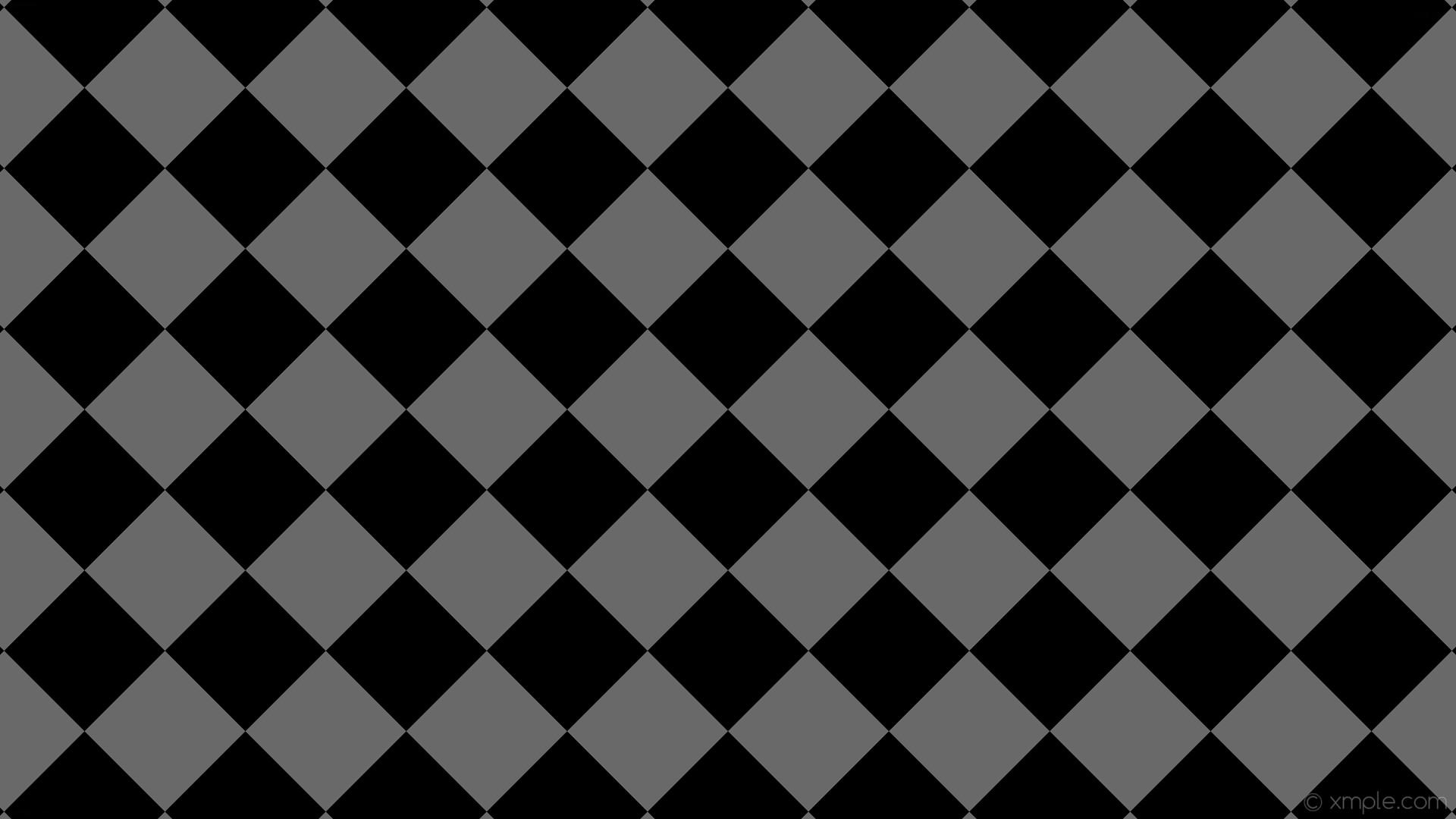 1920x1080 wallpaper checkered black squares grey dim gray #696969 #000000 diagonal  45° 150px