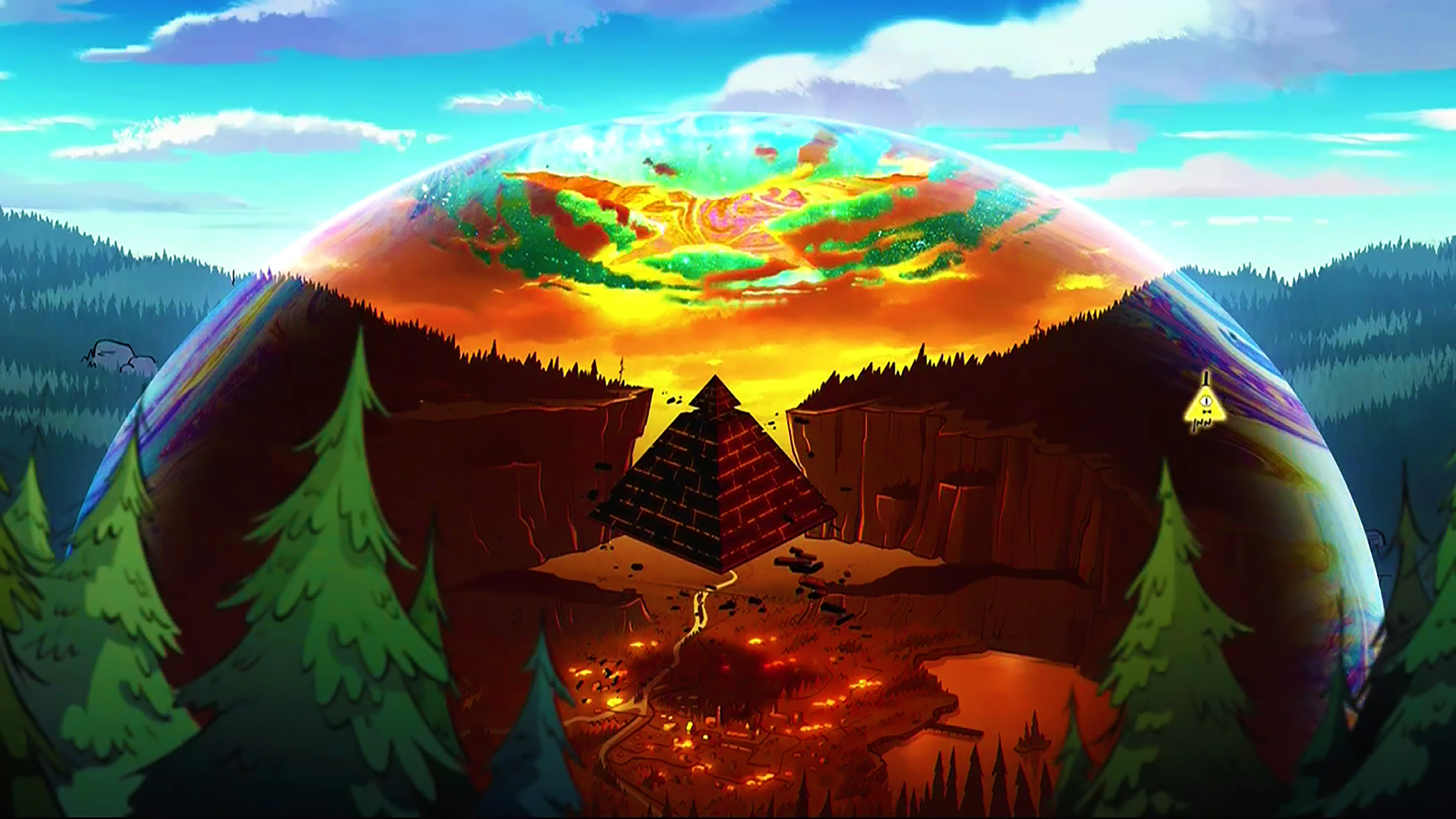 3840x2160 gravity falls wallpaper images (9)
