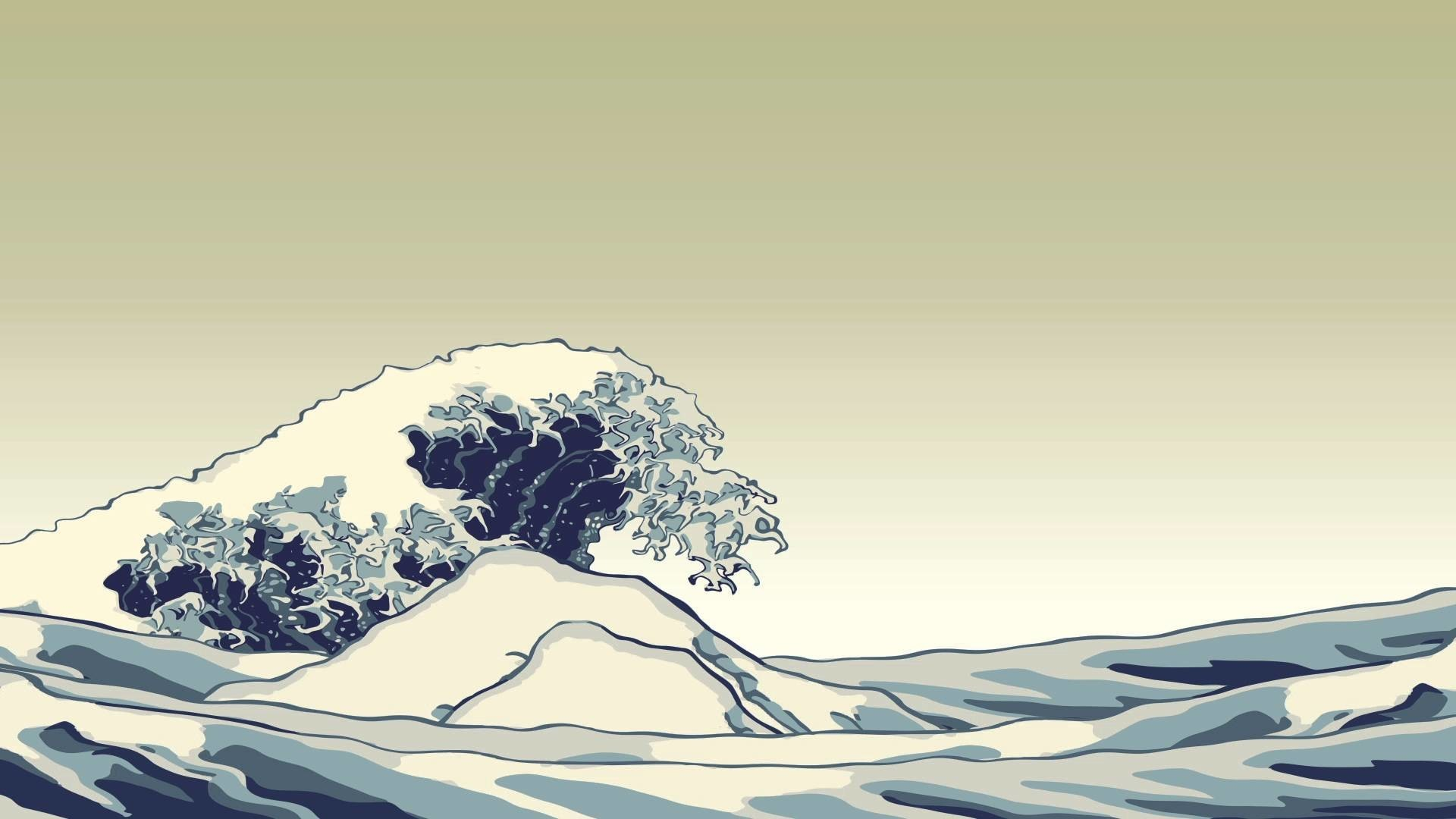 The Great Wave Wallpaper 66 Images