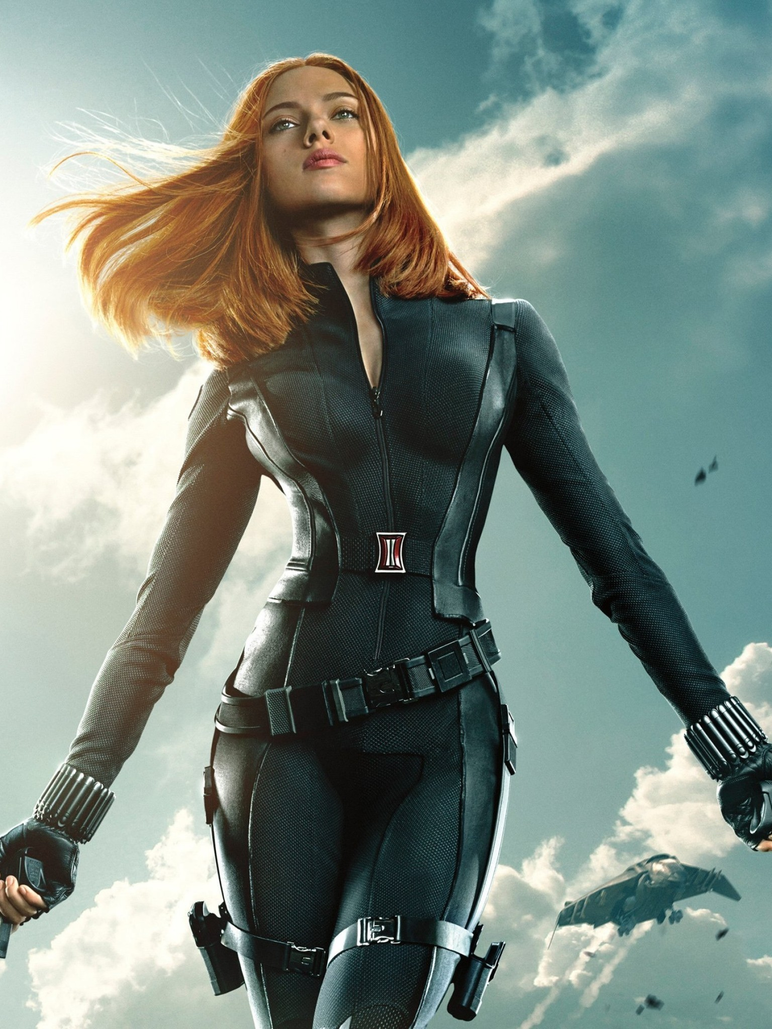 1536x2048 Scarlett Johansson, Black Widow, Captain America: The Winter Soldier