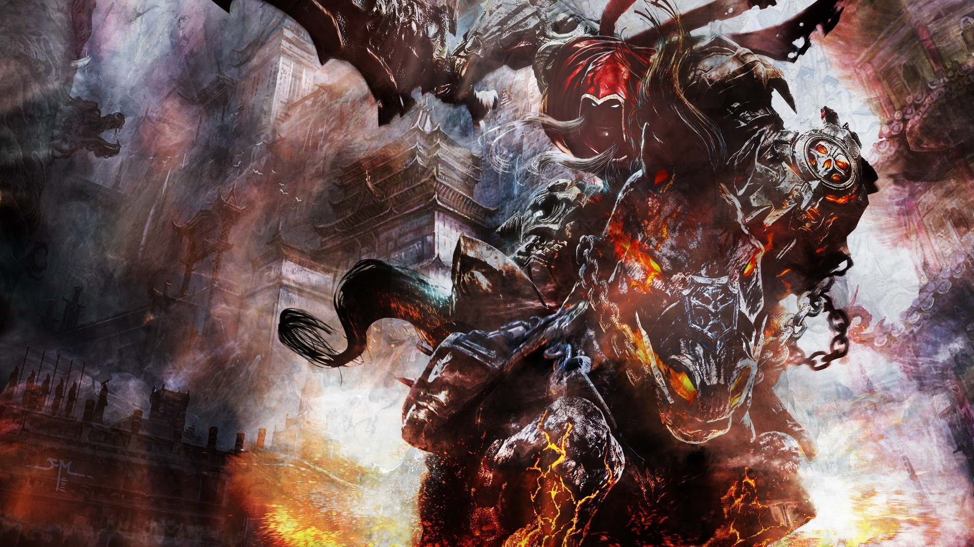 Darksiders Four Horsemen Wallpaper (85+ images)
