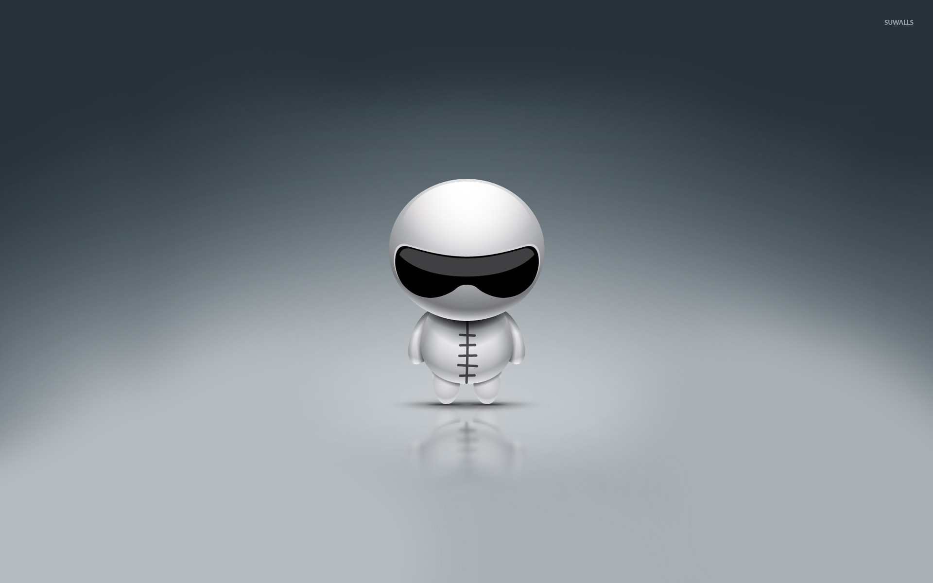1920x1200 Stig emoticon wallpaper