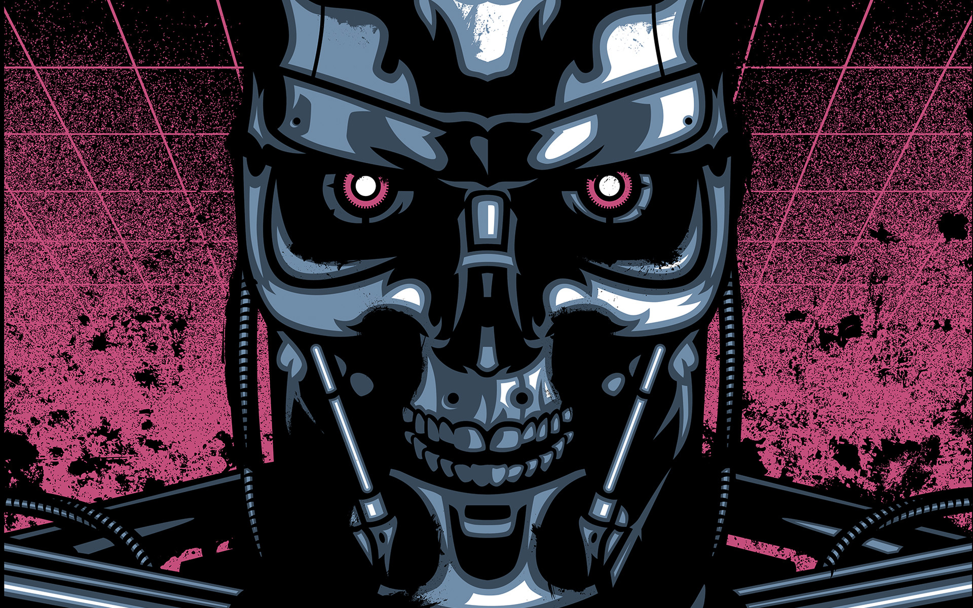 1920x1200 Cartoon Terminator Genisys Wallpaper HD 216 Wallpaper