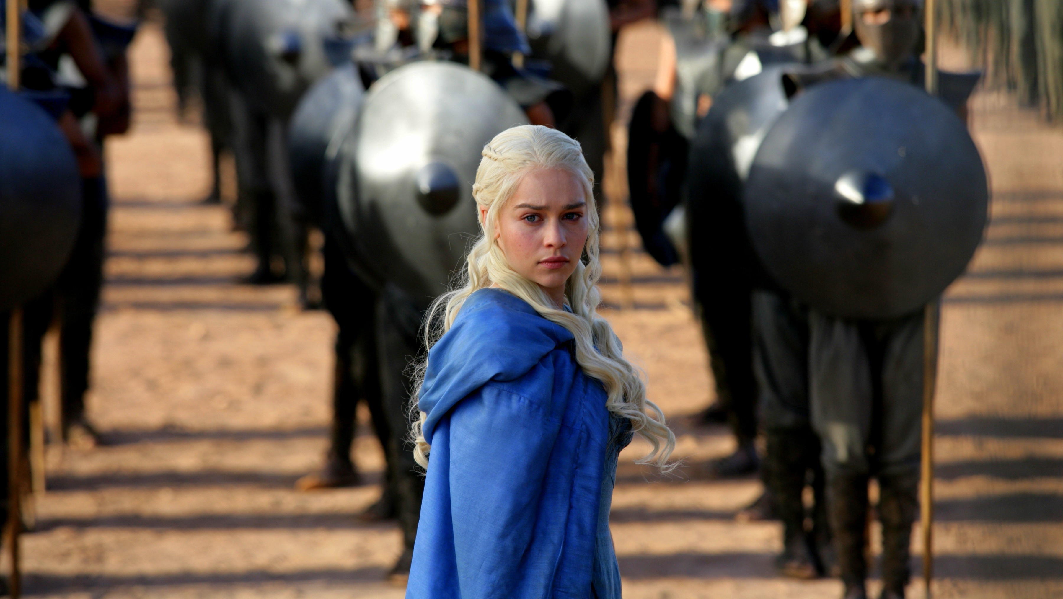 3600x2029 Daenerys Targaryen, Game Of Thrones, Blue Clothes Wallpapers HD / Desktop  and Mobile Backgrounds
